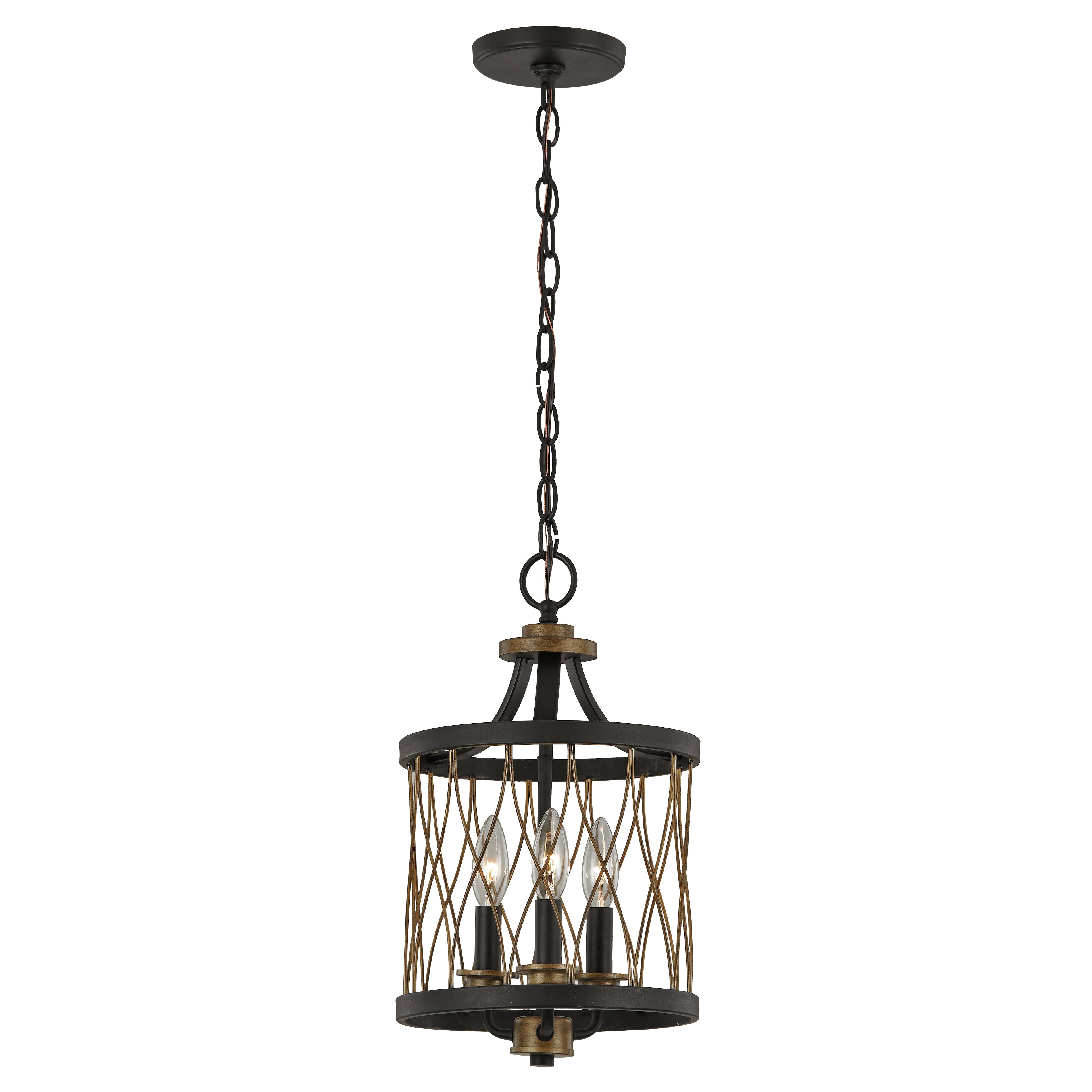 Laurel Foundry Modern Farmhouse Denise 3 Light Drum