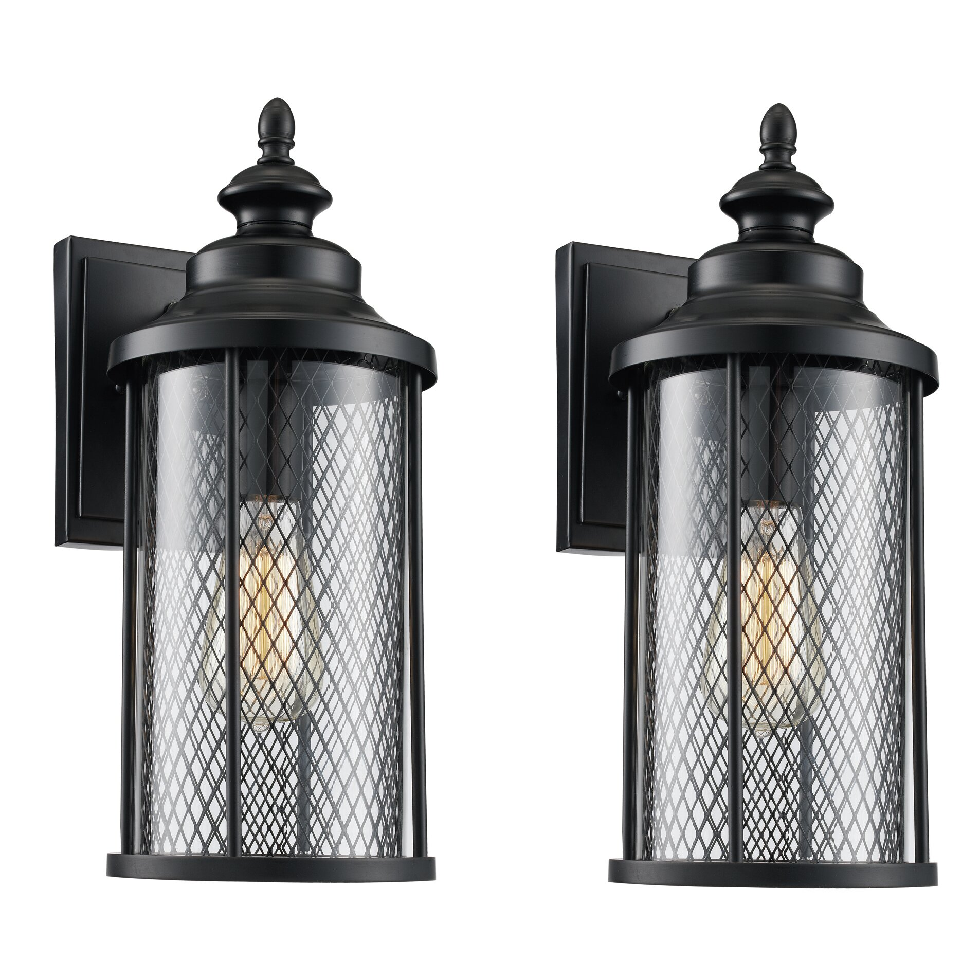 Laurel Foundry Modern Farmhouse Delilah 1 Light Outdoor Wall Lantern & Reviews Wayfair