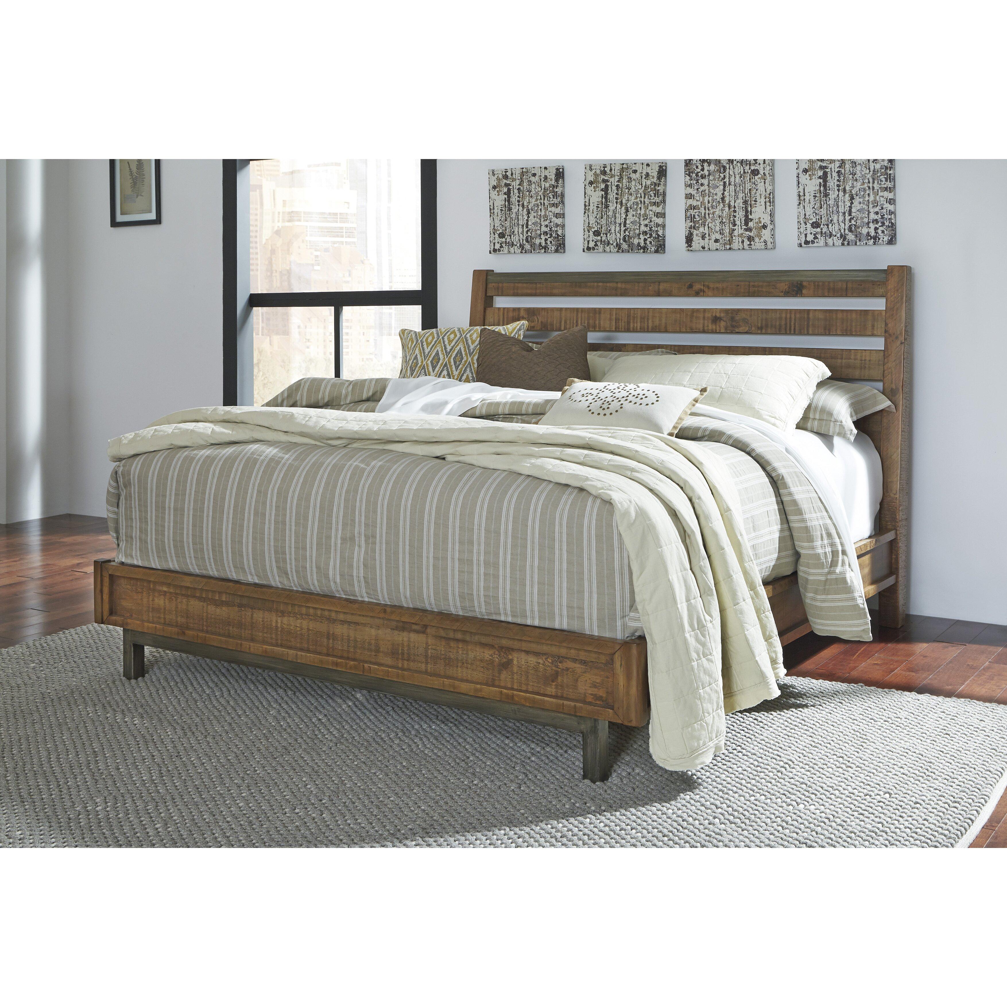 Laurel Foundry Modern Farmhouse Desjardins Panel Bed Reviews Wayfair
