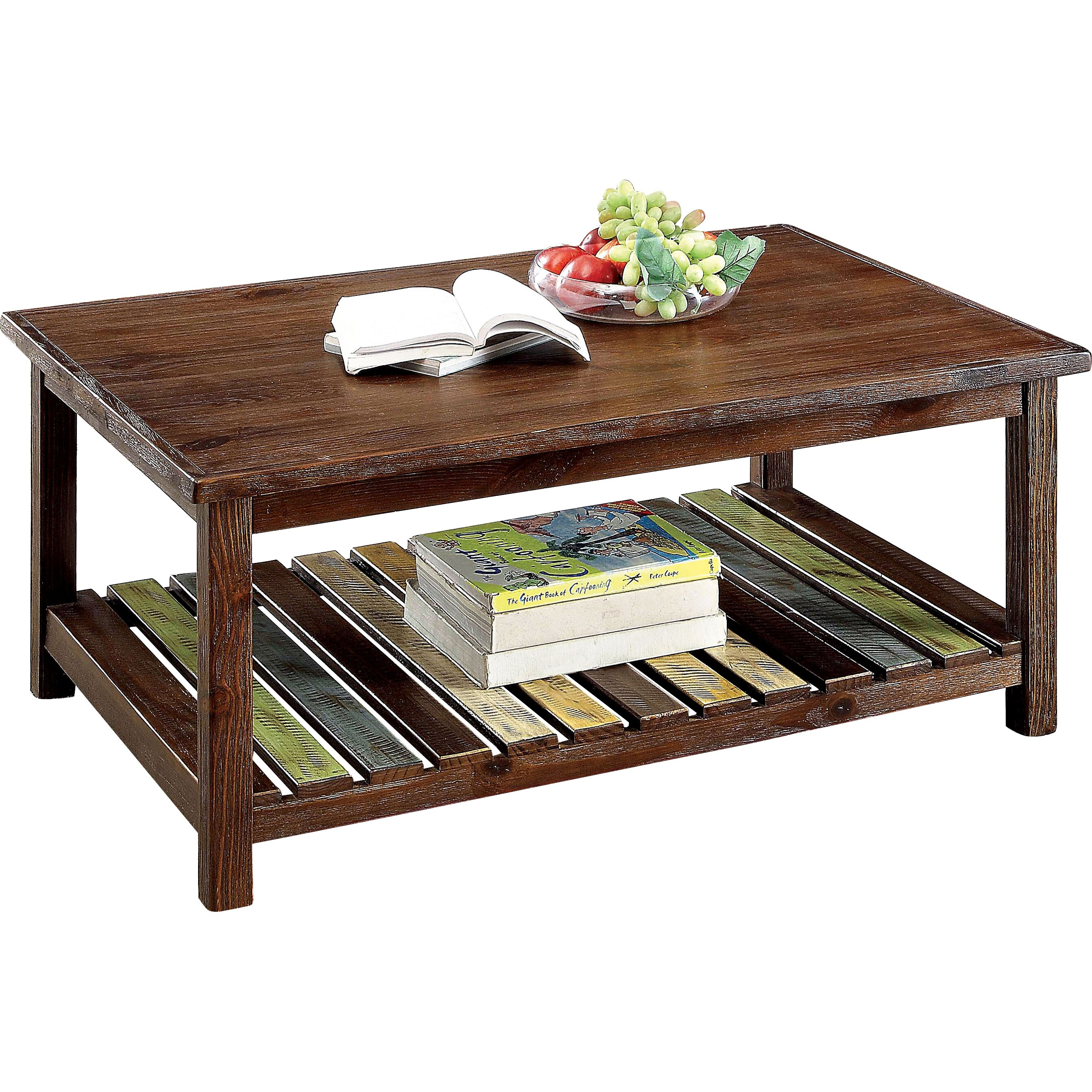 Modern Farmhouse Coffee Table: Laurel Foundry Modern Farmhouse Fenwick Coffee Table