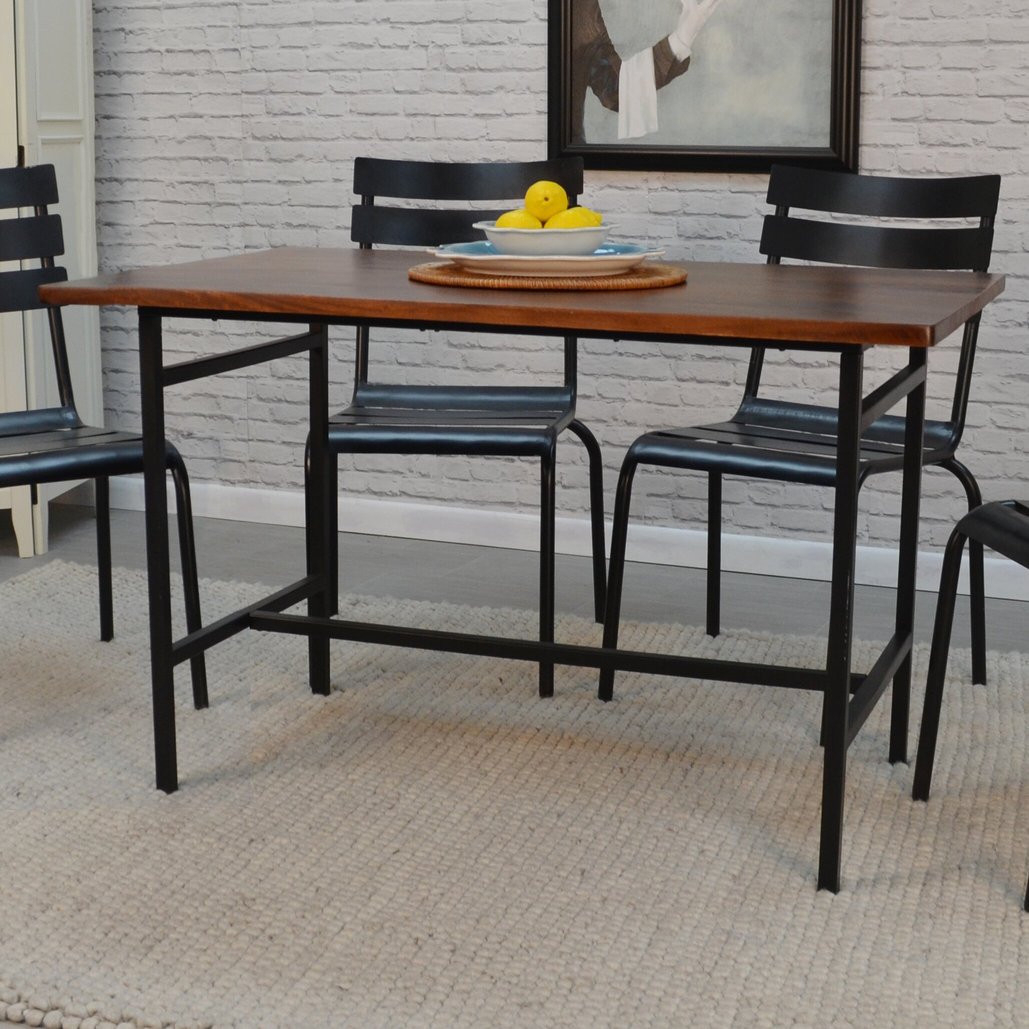 Farmhouse Dining Table: Laurel Foundry Modern Farmhouse Cortaro Dining Table