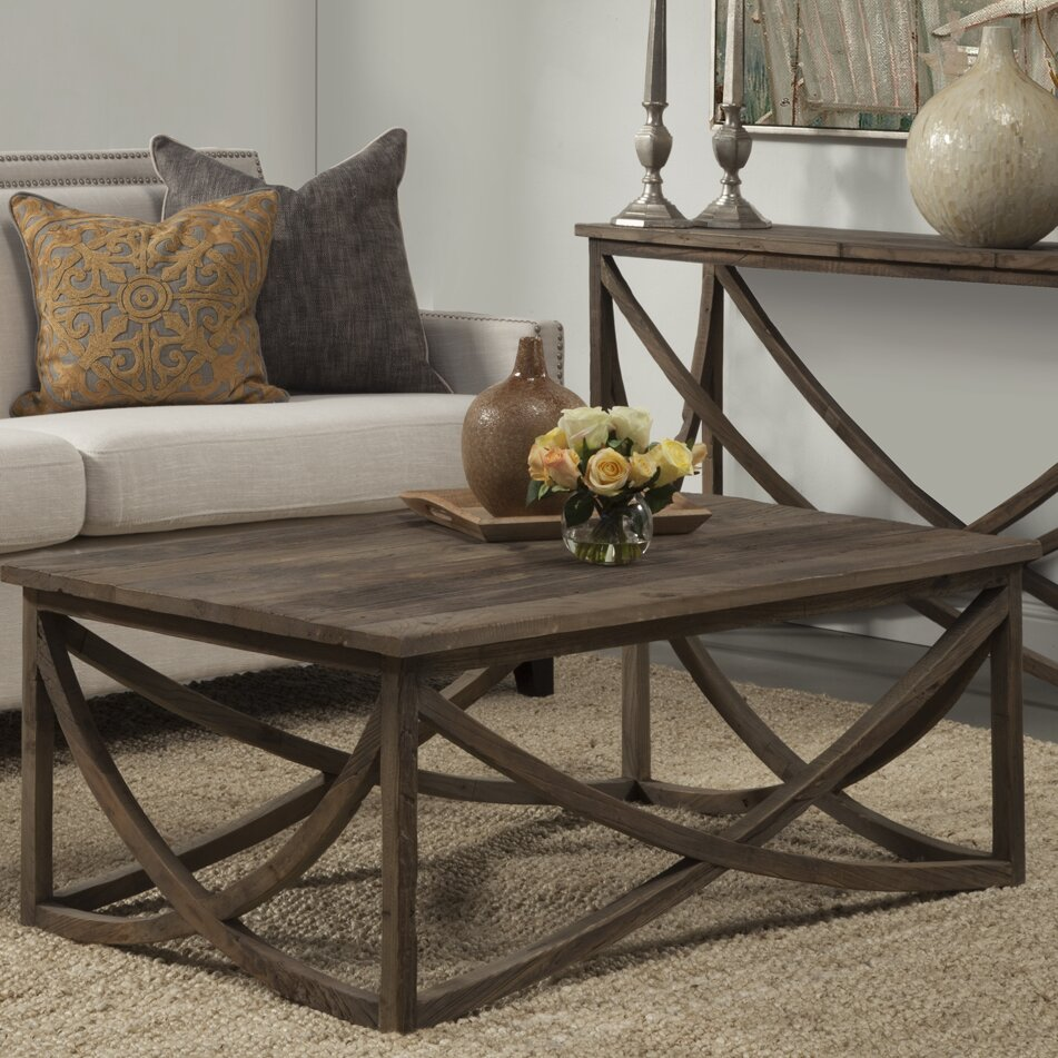 Modern Farmhouse Coffee Table: Laurel Foundry Modern Farmhouse Corning Coffee Table
