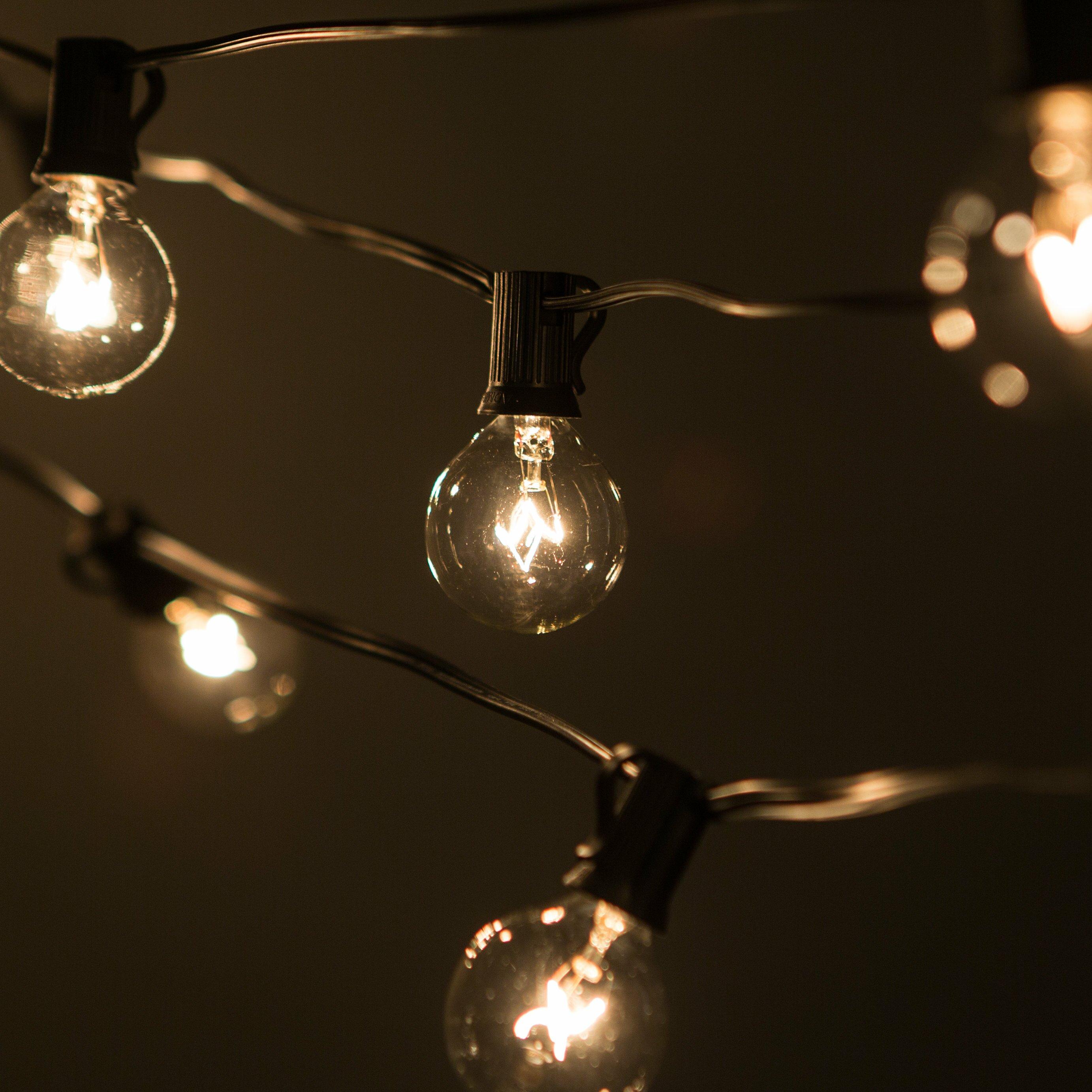 Globe String Lights 50 Ft : Laurel Foundry Modern Farmhouse Jaime 50-Light 50 ft. Globe String Lights & Reviews Wayfair