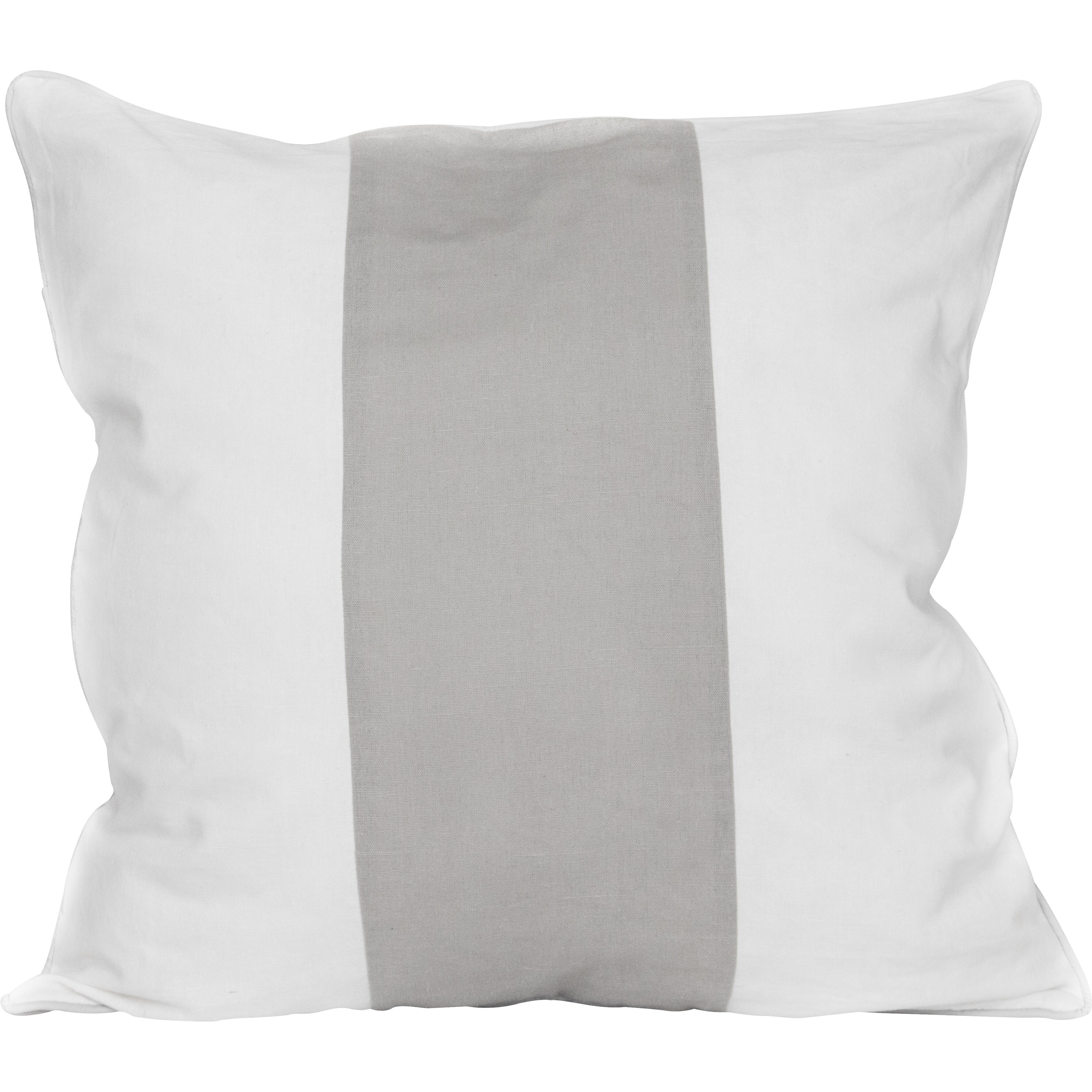 Elements By Erin Gates Solid Striped Throw Pillow