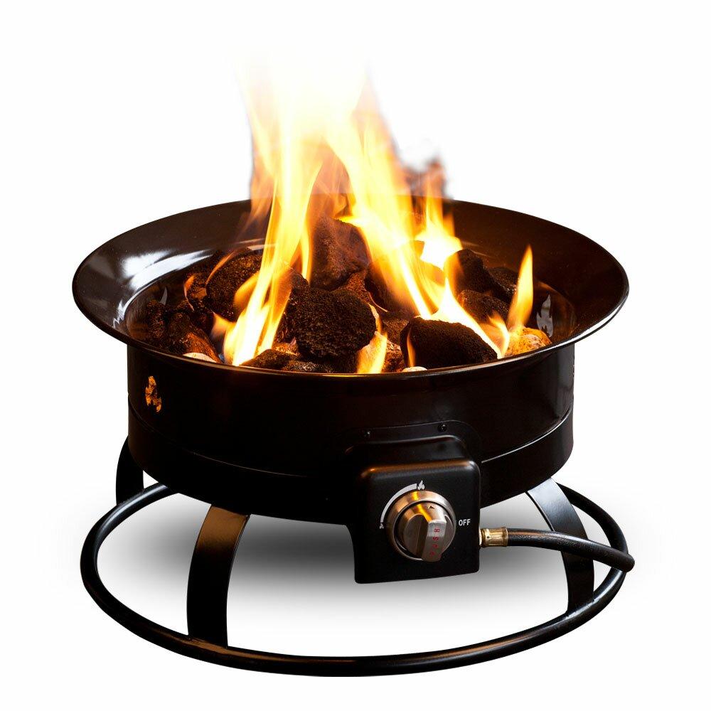 Outland Living Standard Steel Propane Fire Pit   Wayfair.ca on Outland Gas Fire Pit id=28159