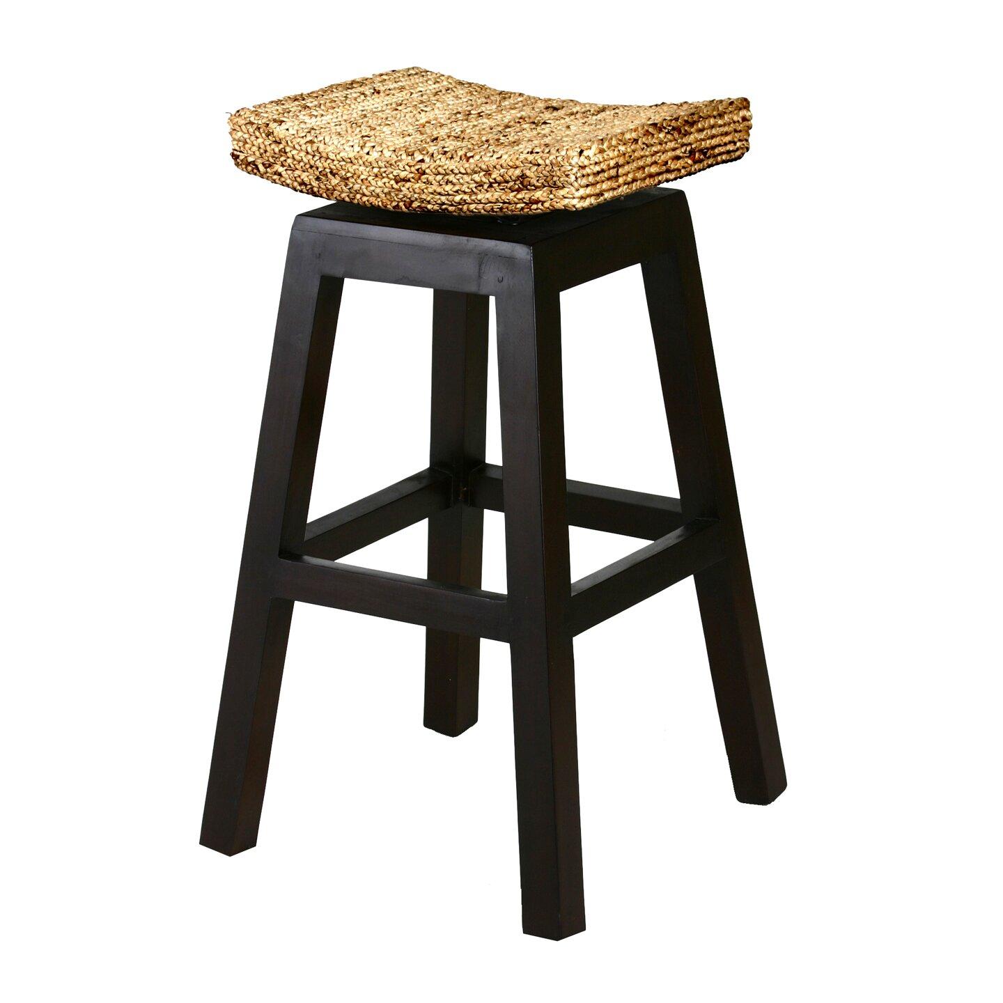 Chicteak 30 Quot Swivel Bar Stool Wayfair