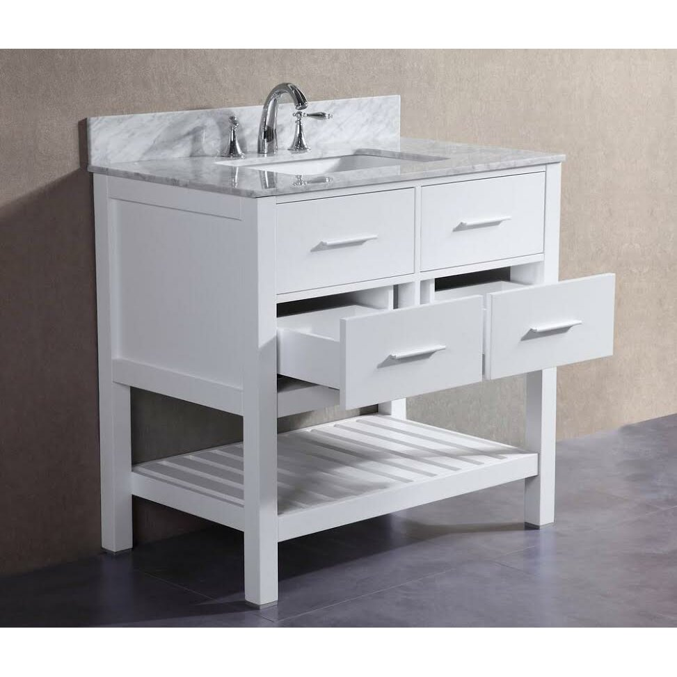 Belvederebath Signature Series 36 Single London Bathroom Vanity Set Wayfair