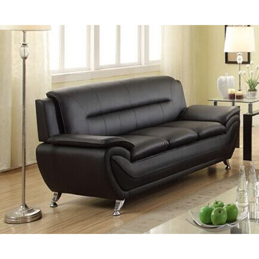 Pdae Inc Deliah Modern Living Room Sofa