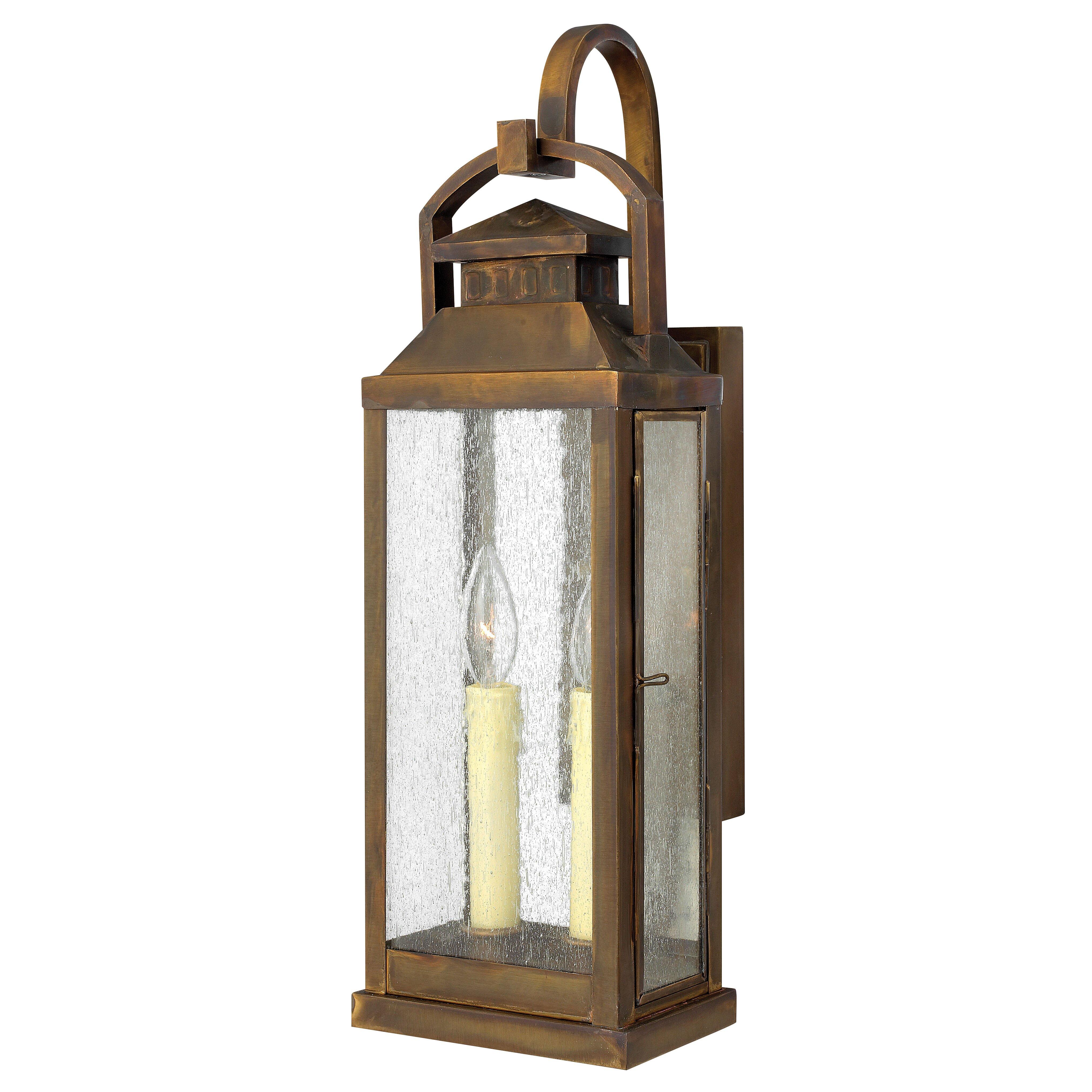 Hinkley Outdoor Wall Light: Hinkley Lighting Revere 2 Light Outdoor Wall Lantern