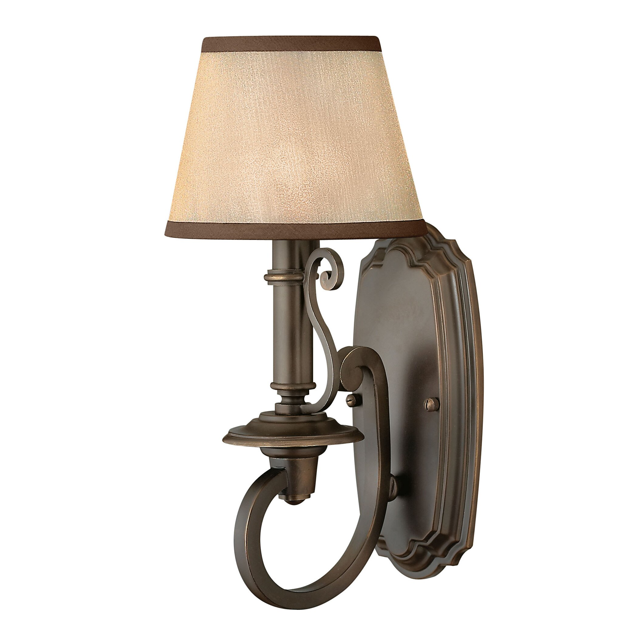 Wall Sconces At Wayfair : Hinkley Lighting Plymouth 1 Light Wall Sconce & Reviews Wayfair