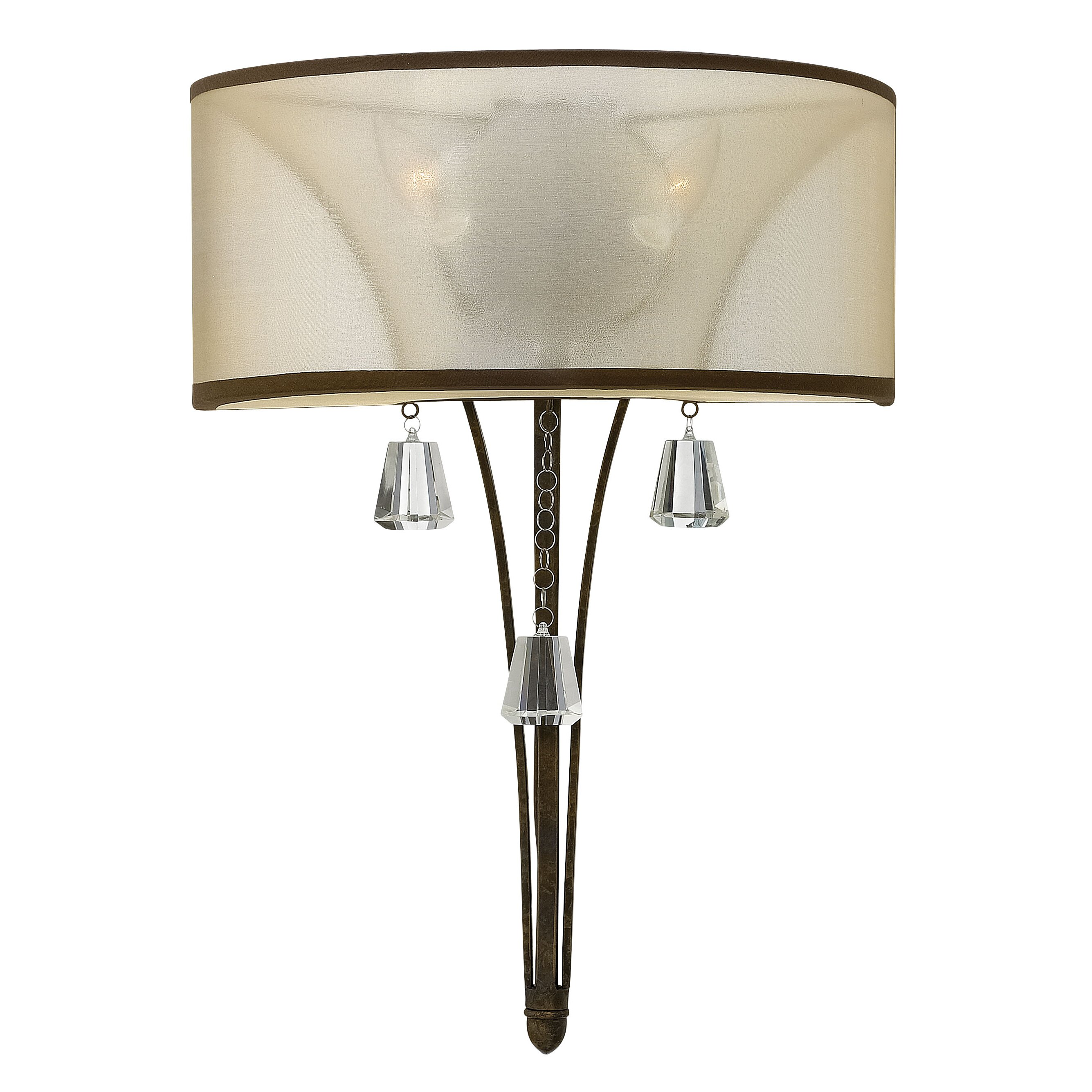 Hinkley Bathroom Wall Sconces : Hinkley Lighting Mime 2 Light Wall Sconce & Reviews Wayfair.ca