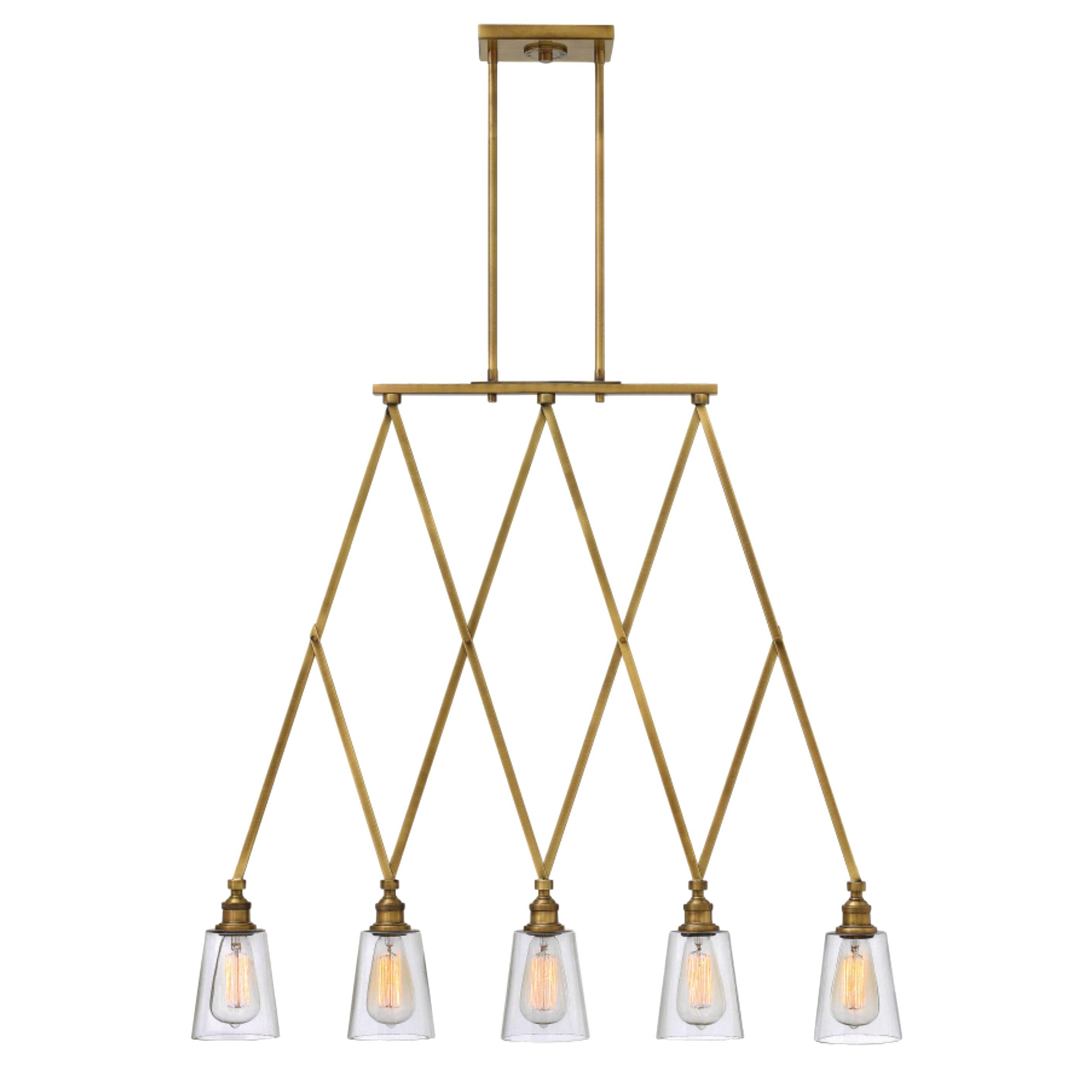 Hinkley Lighting Gatsby 5 Light Mini Chandelier & Reviews