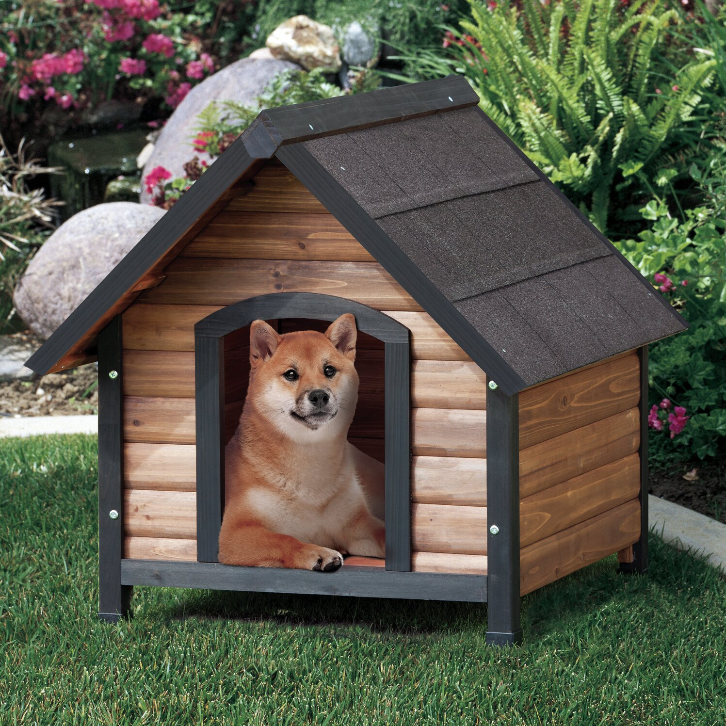 Precision Pet Products Extreme Outback Country Lodge Dog House