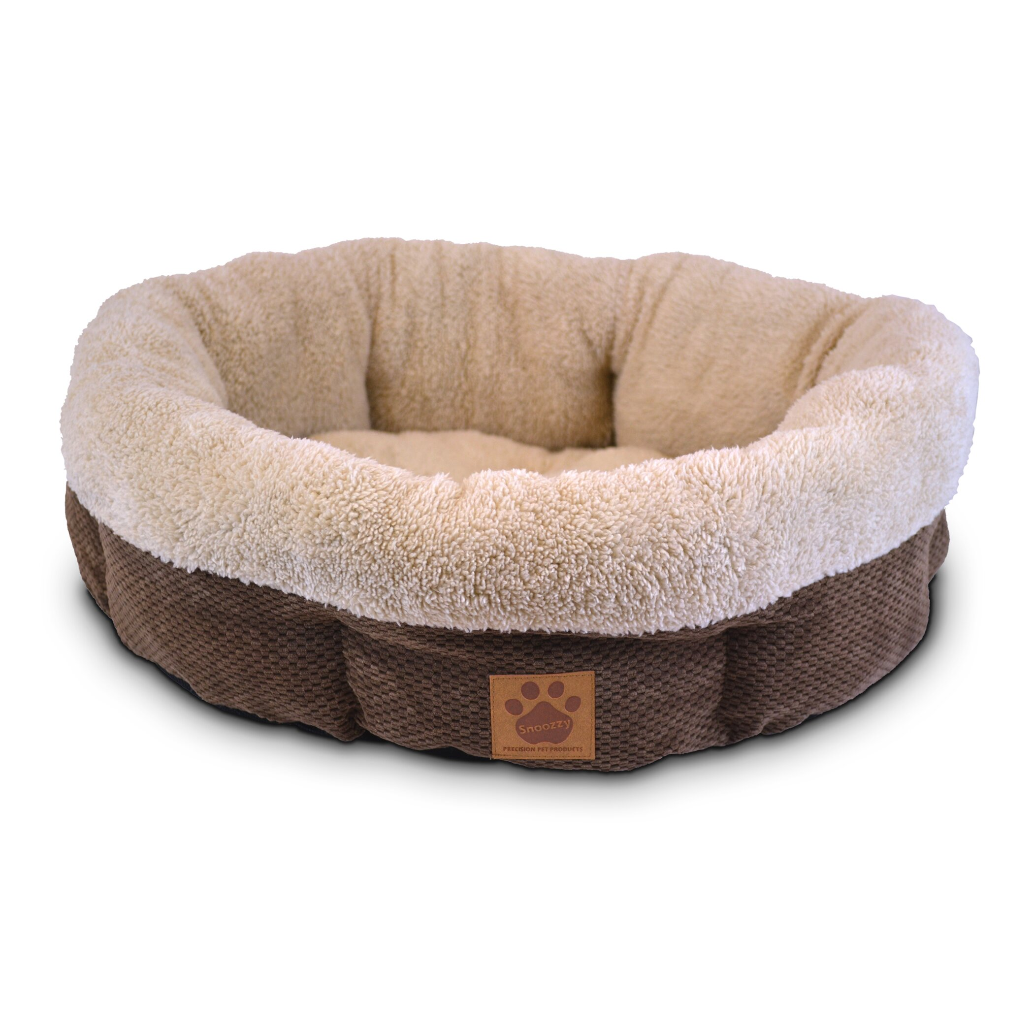 Precision Pet Natural Surroundings Shearling Dog Bed & Reviews