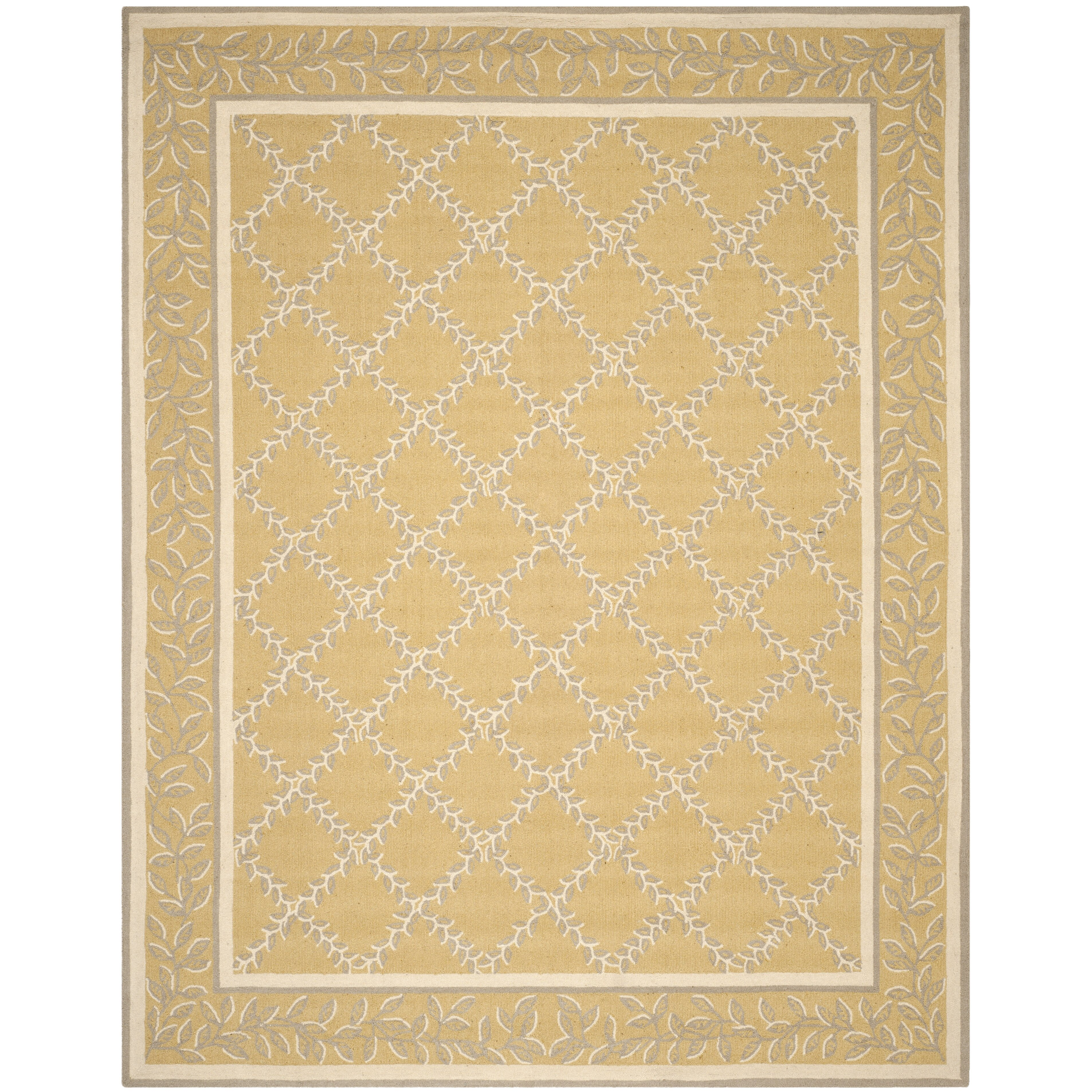 Yellow And Grey Area Rugs Safavieh Chelsea Yellow Grey