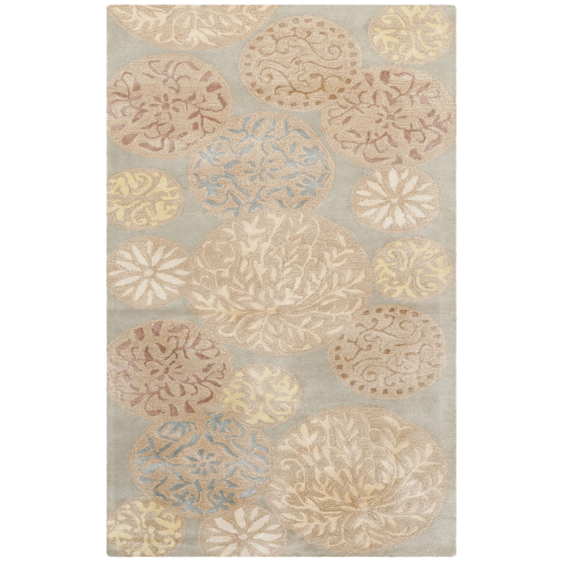 Safavieh Martha Stewart Herbal Garden Area Rug Reviews Wayfair