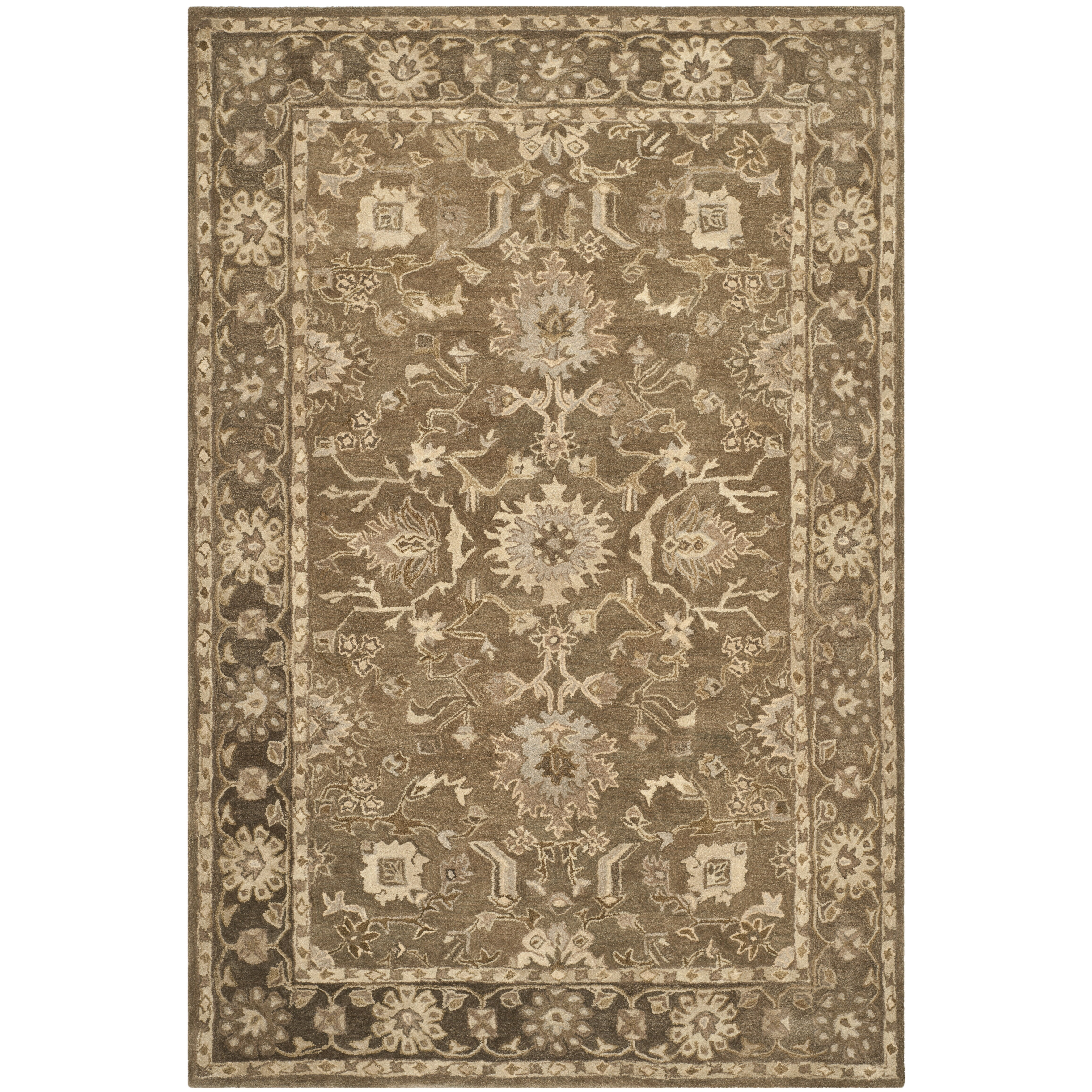 Brown and grey area rugs for Grey and tan rug