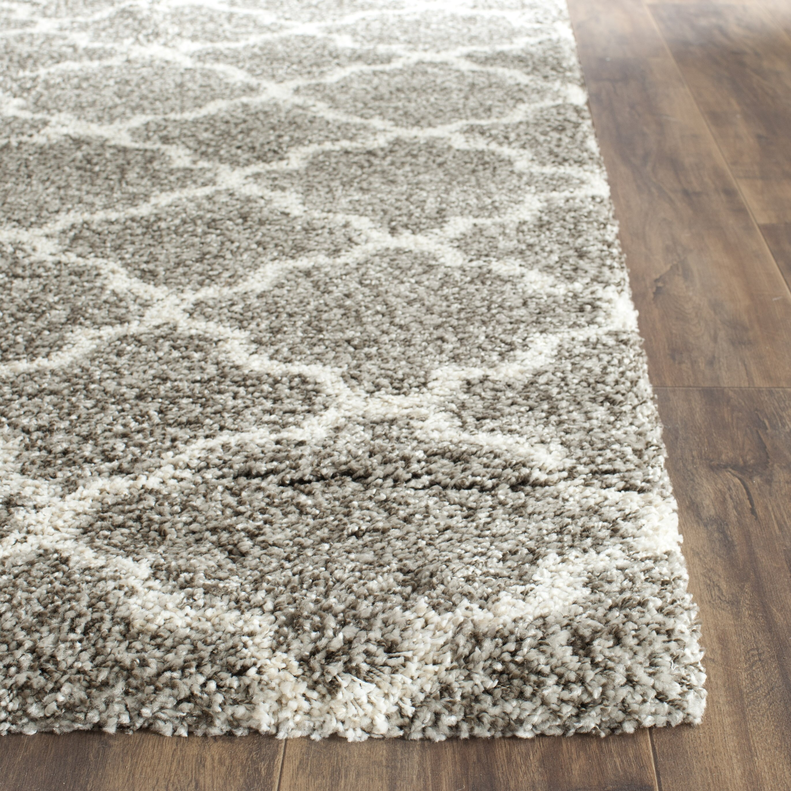 Safavieh Hudson Shag Gray Ivory Area Rug Reviews Wayfair