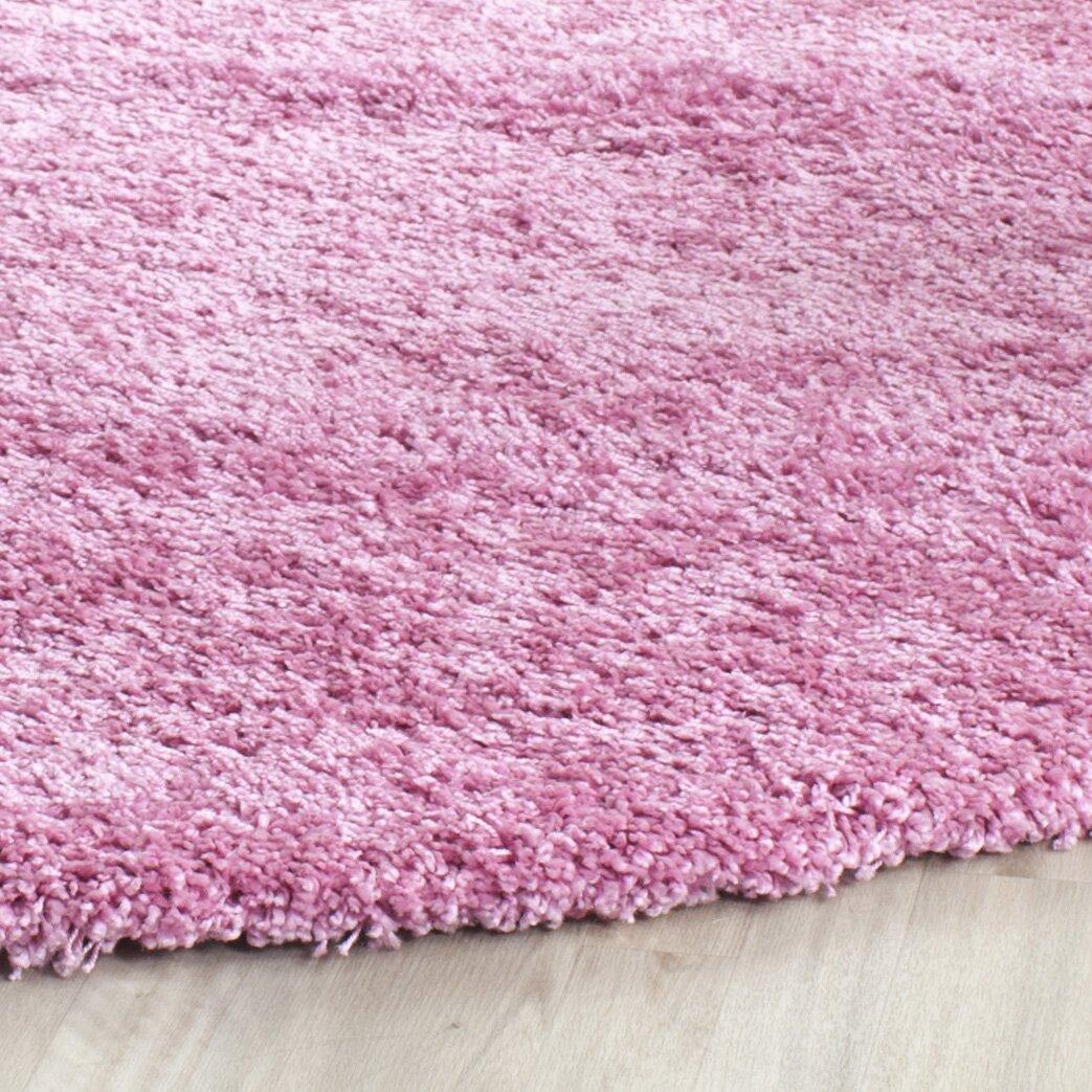 Safavieh Shag Pink Indoor Area Rug Reviews Wayfair