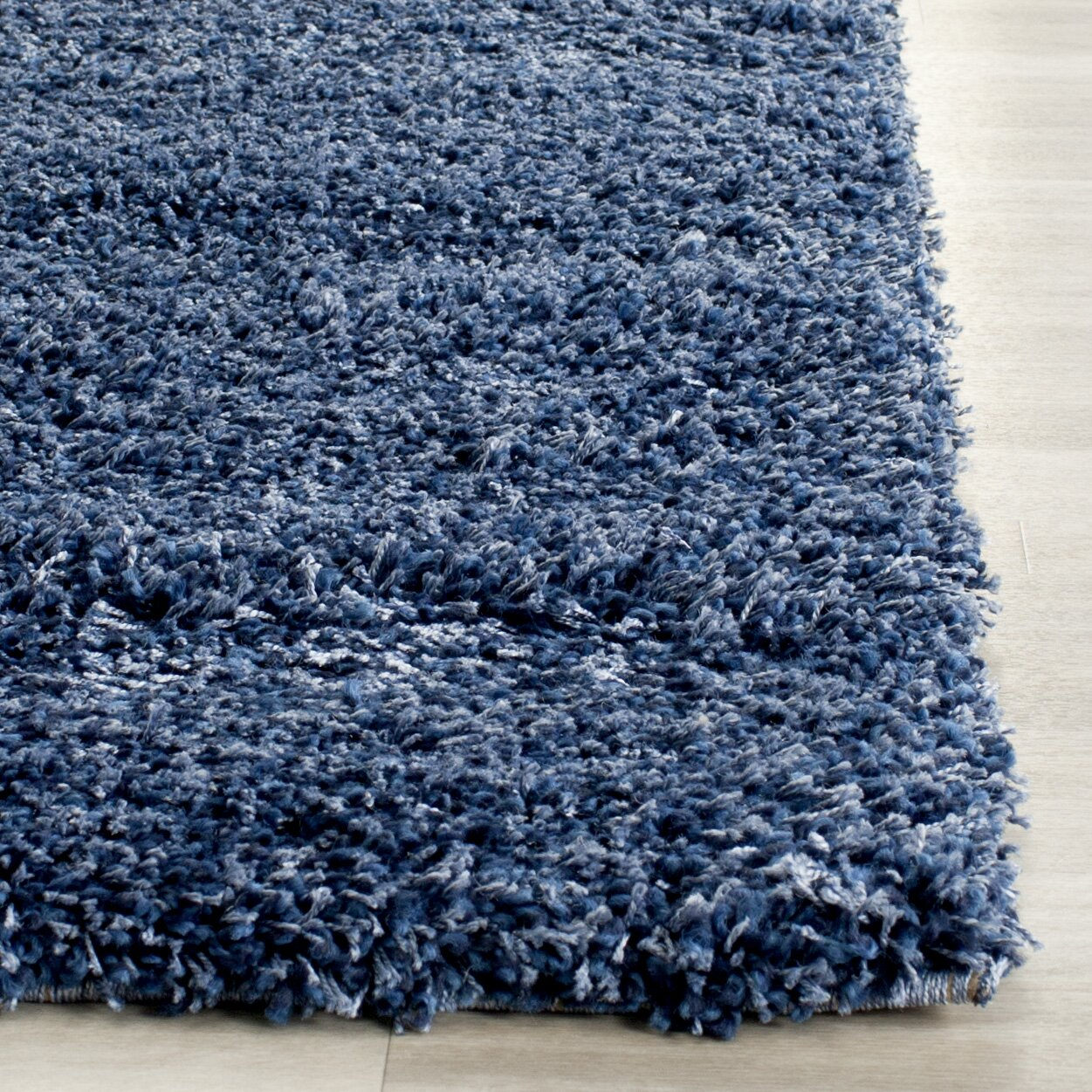 blue shag rug safavieh shag navy blue solid rug amp reviews wayfair 11071