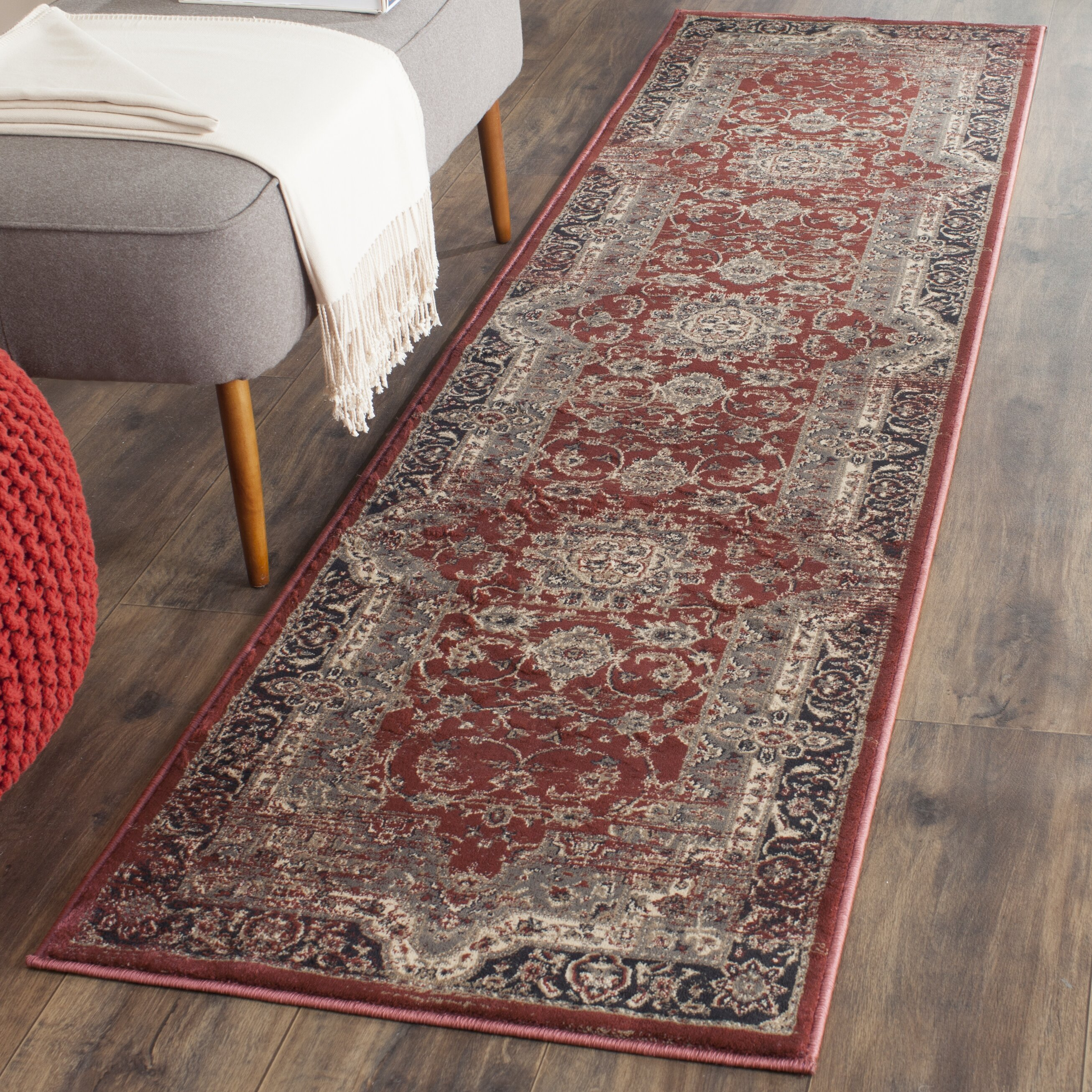 Safavieh Vintage Rust Black Area Rug Amp Reviews Wayfair