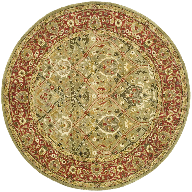 Safavieh Persian Legend Light Green Amp Rust Area Rug