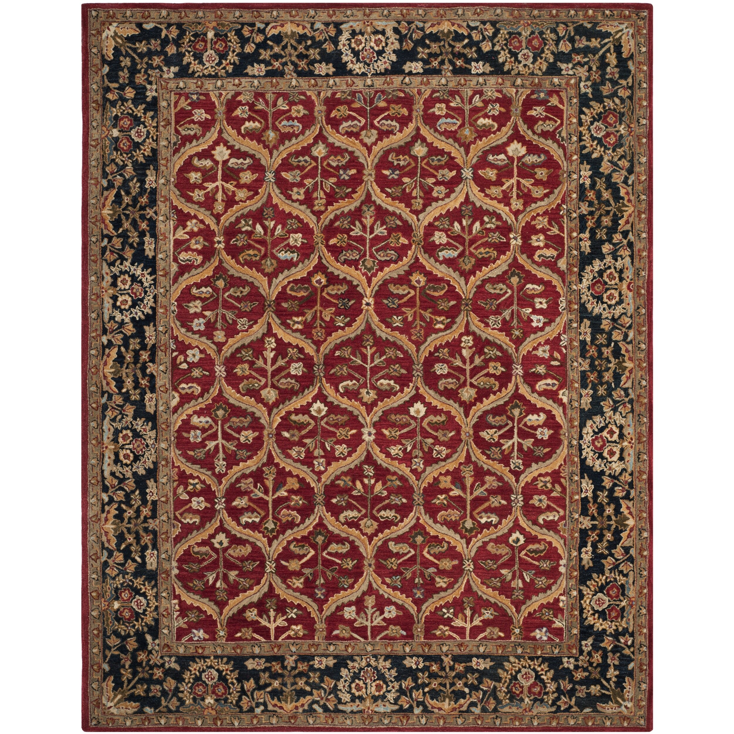 safavieh anatolia red area rug reviews wayfair
