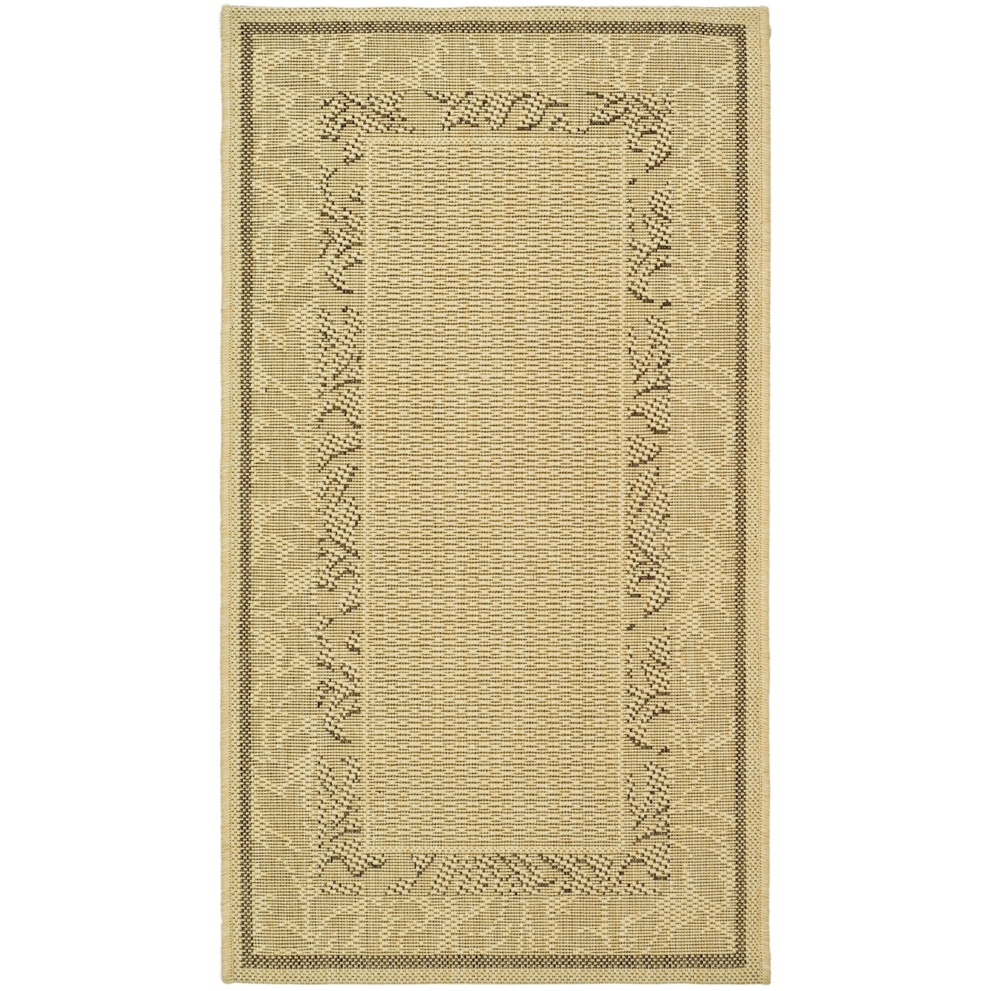 Safavieh Courtyard Ivory Outdoor Area Rug & Reviews