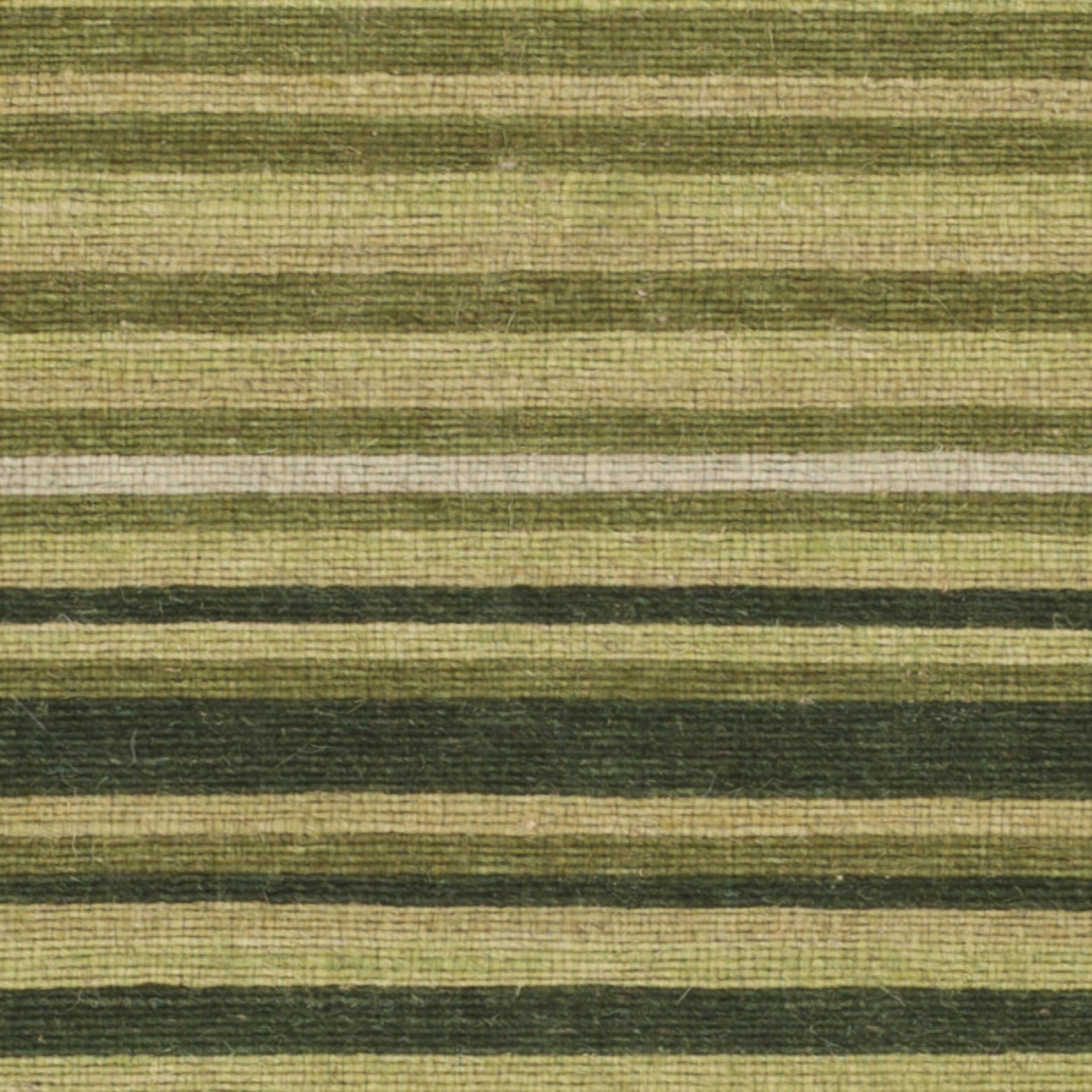 Safavieh Marbella Green Striped Contemporary Area Rug