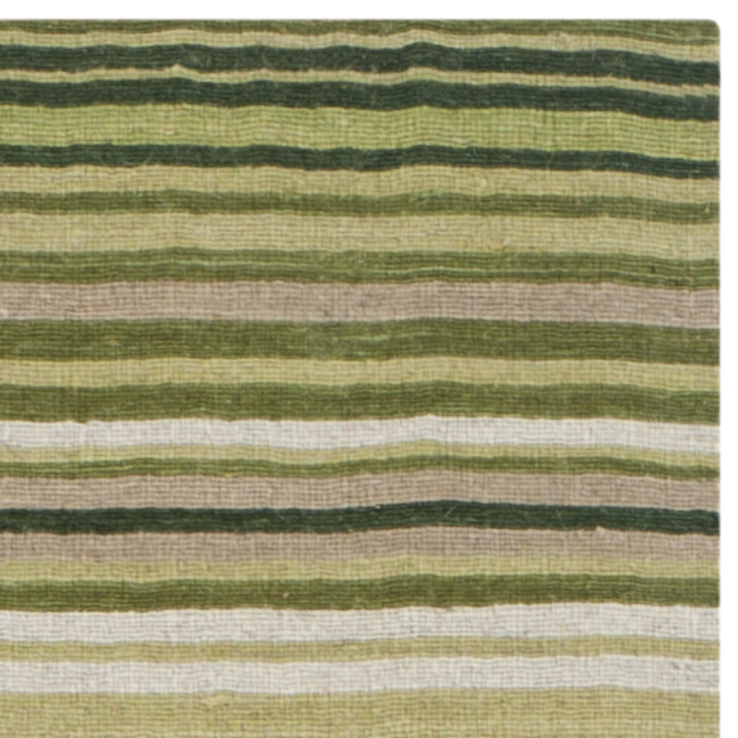 safavieh marbella green striped contemporary area rug cheerful home office rug wayfair safavieh