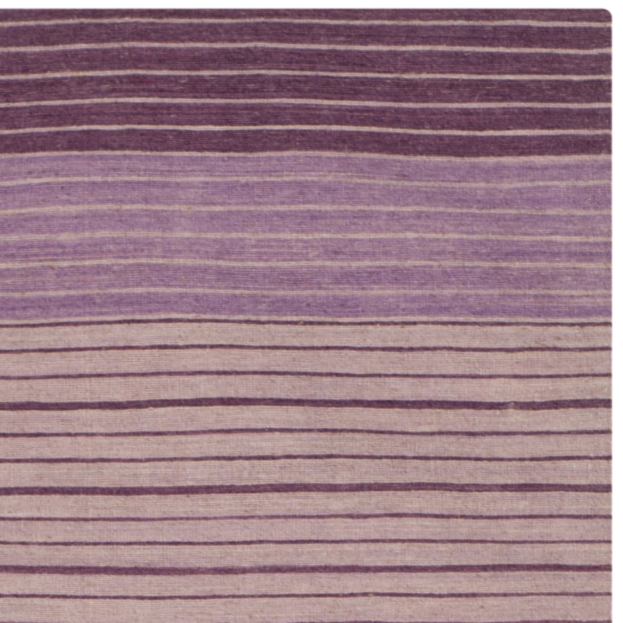 Safavieh marbella lilac striped contemporary purple area for Purple area rugs contemporary