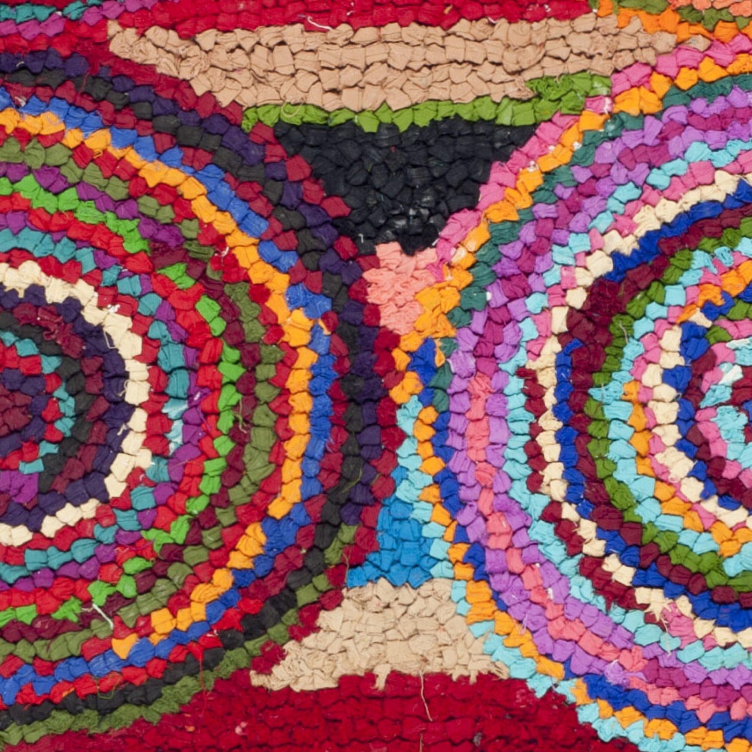 Safavieh Nantucket Circle Pink Area Rug Amp Reviews Wayfair