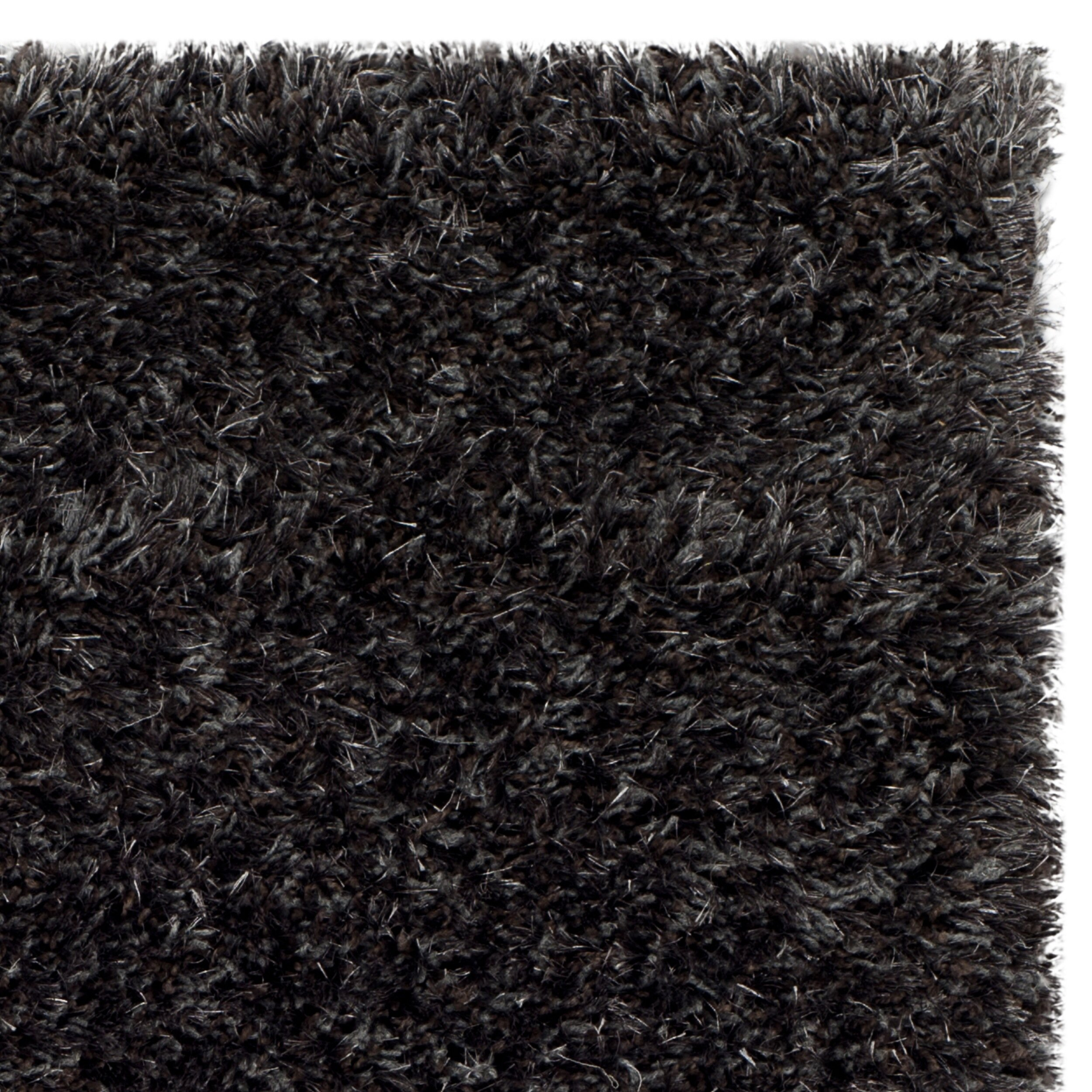 Safavieh Rhapsody Charcoal Grey Shag Rug Reviews Wayfair