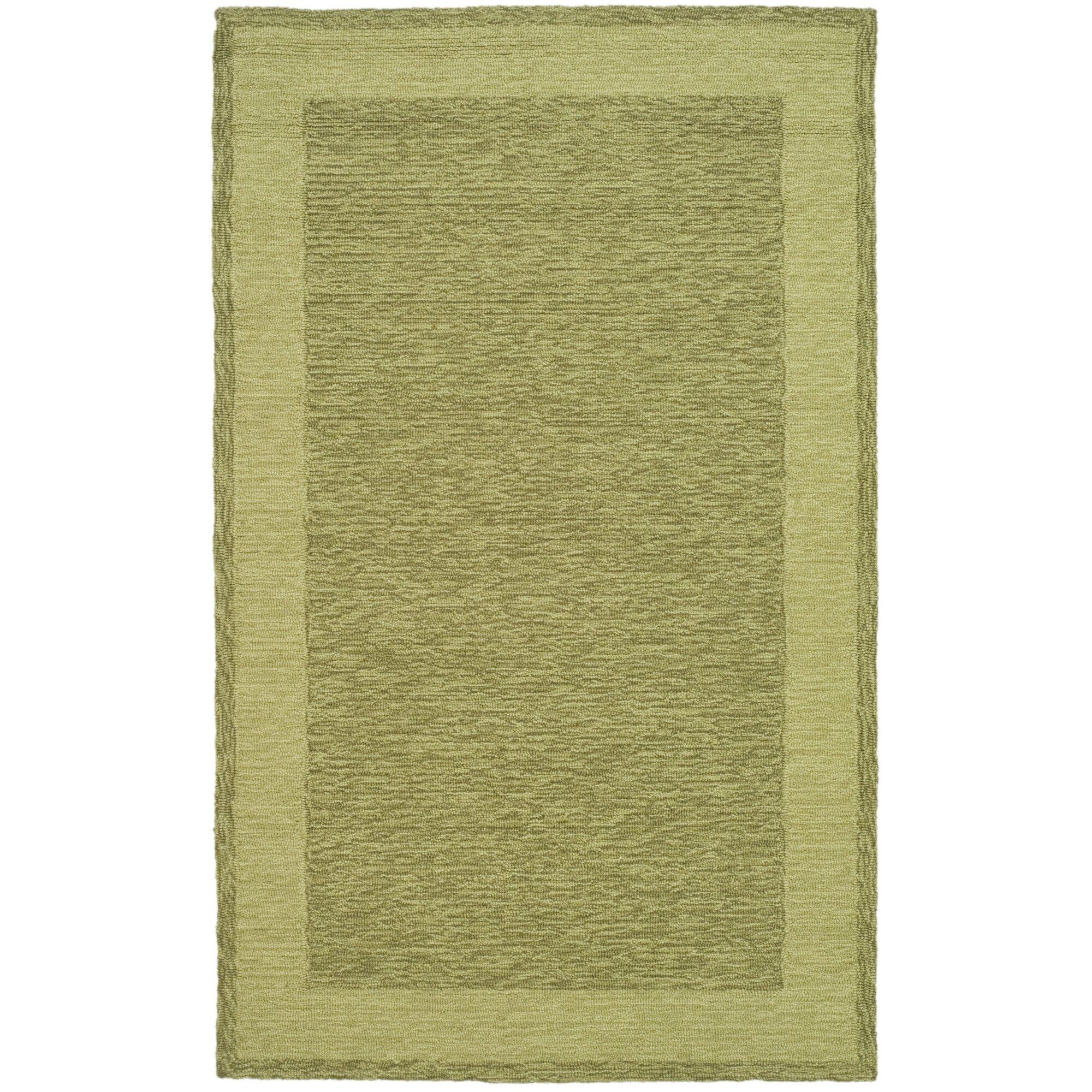 Safavieh durarug green area rug reviews wayfair for Safavieh rugs