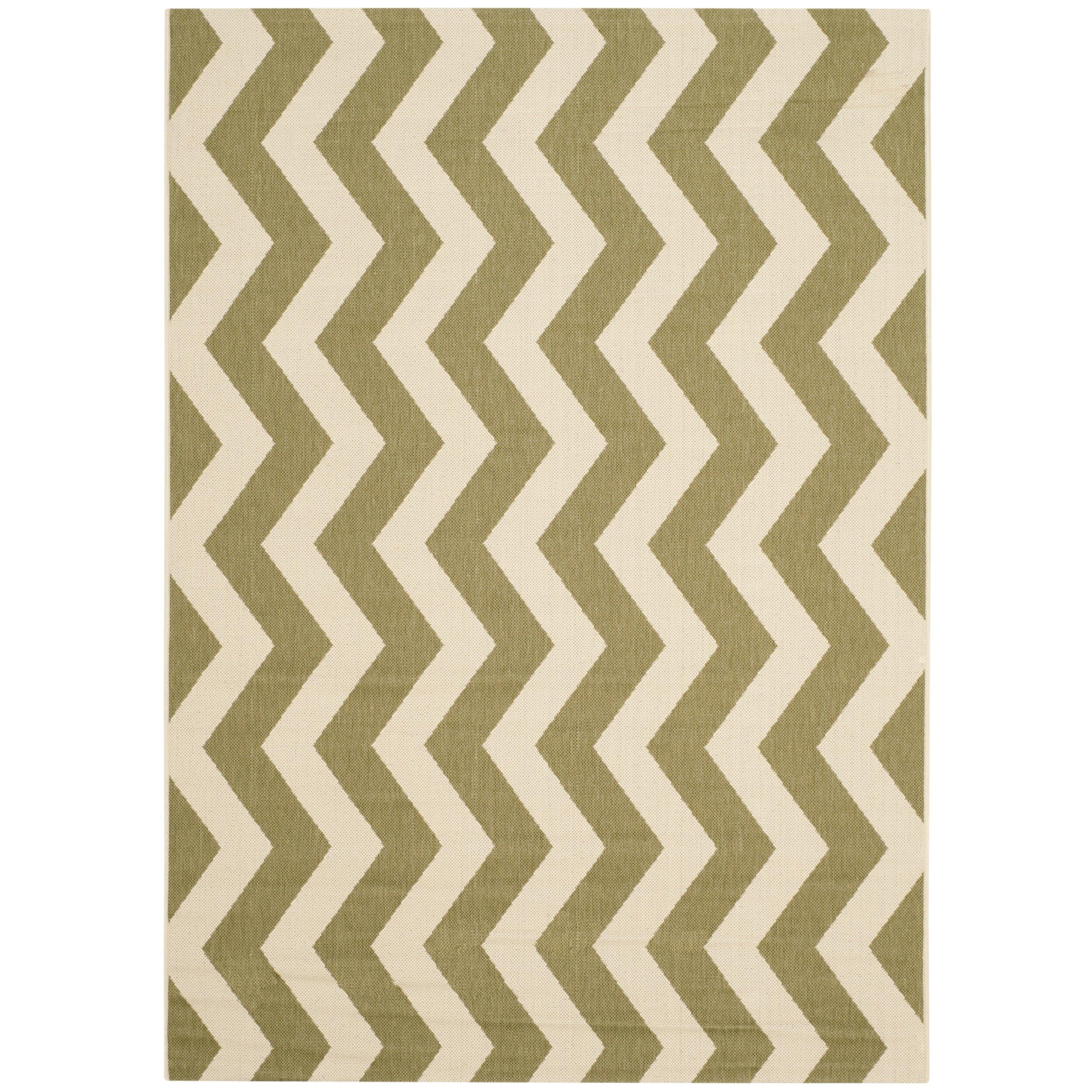 safavieh courtyard green beige indoor outdoor rug reviews wayfair