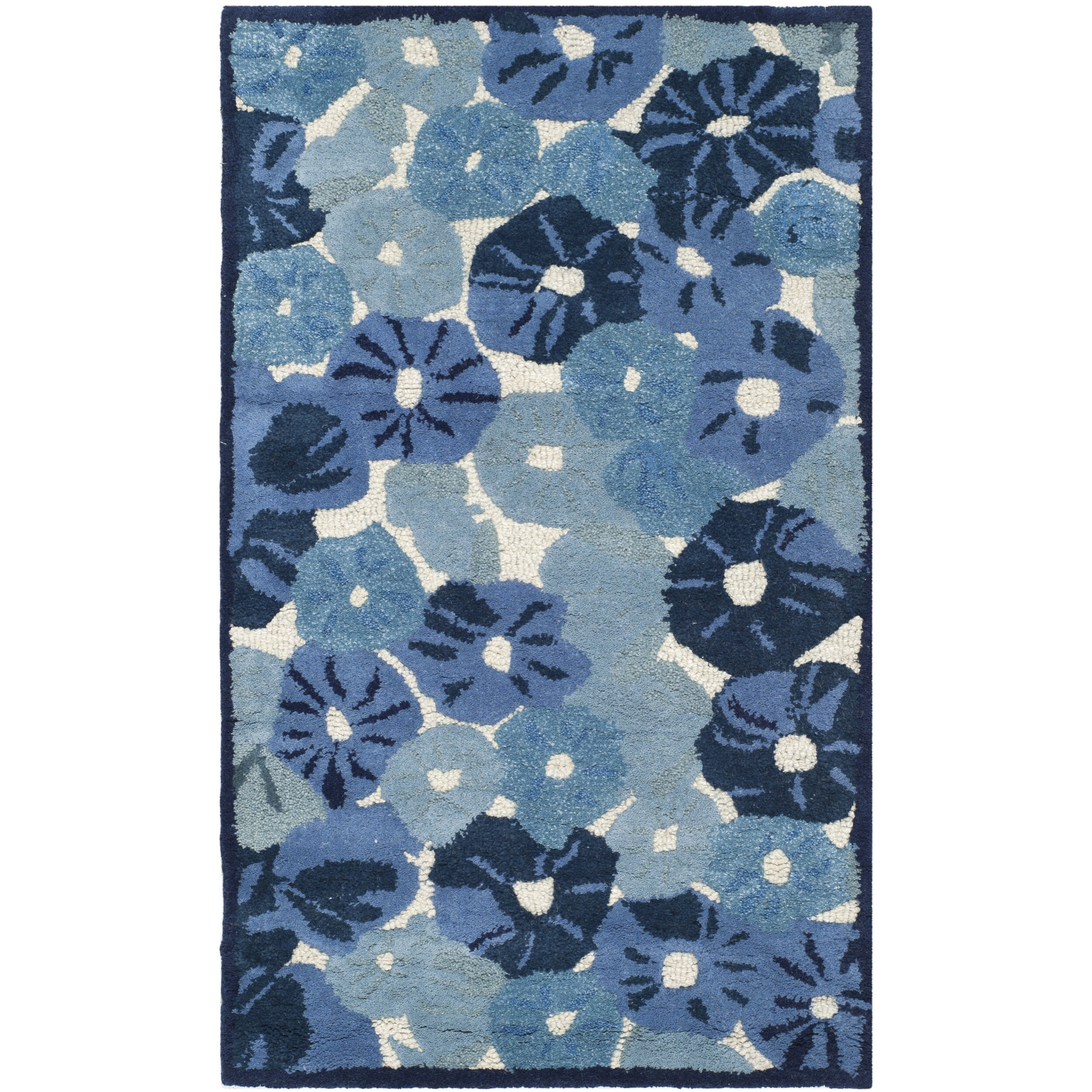 Safavieh Martha Stewart Azurite Blue Area Rug Reviews Wayfair