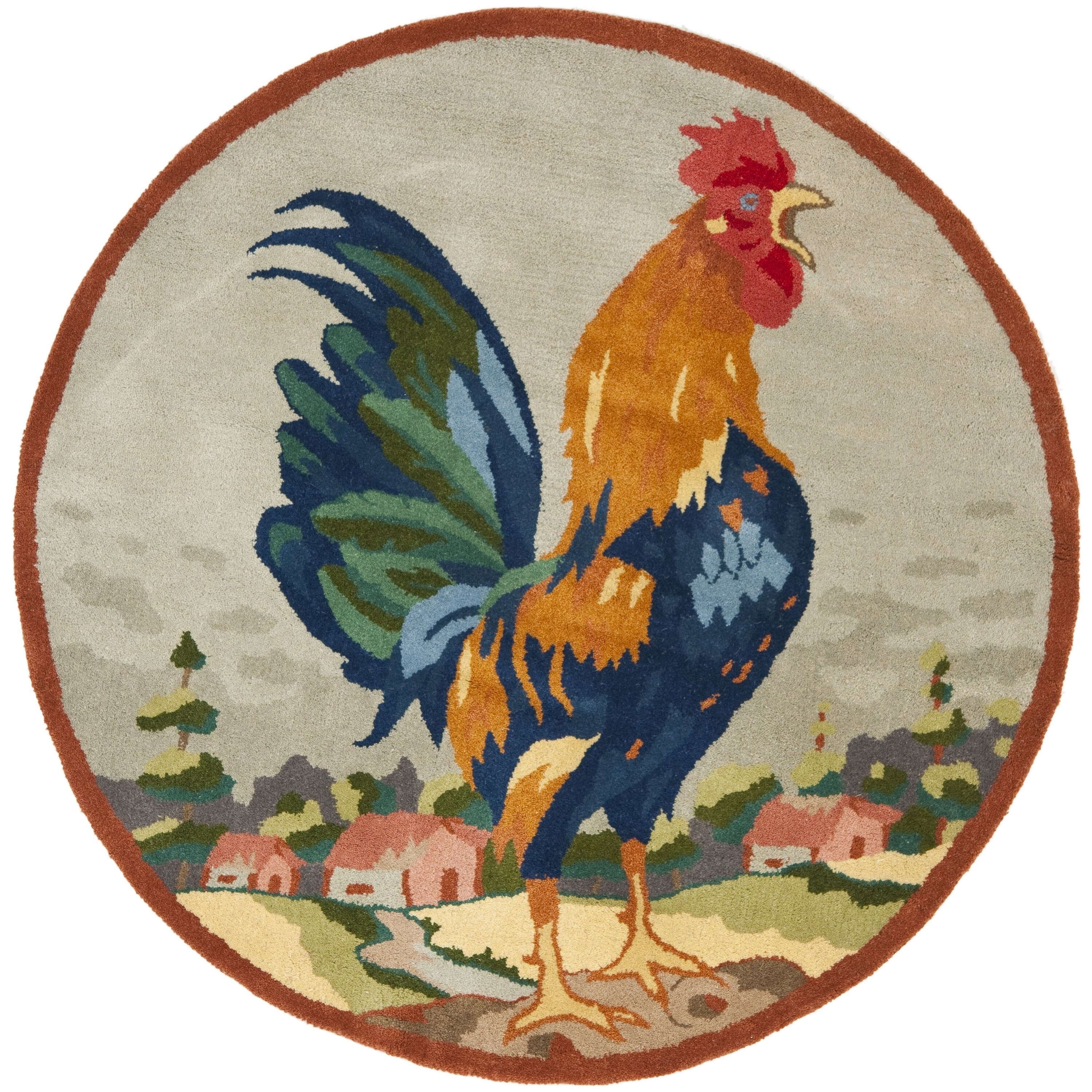 Safavieh Rooster On The Hill Area Rug & Reviews