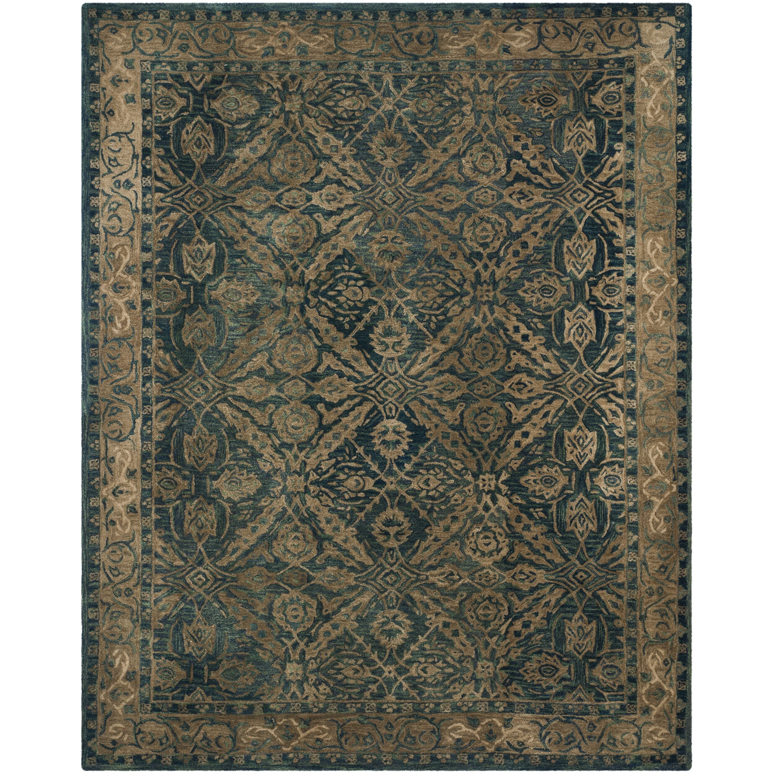 Safavieh Anatolia Navy Ivory Area Rug Amp Reviews