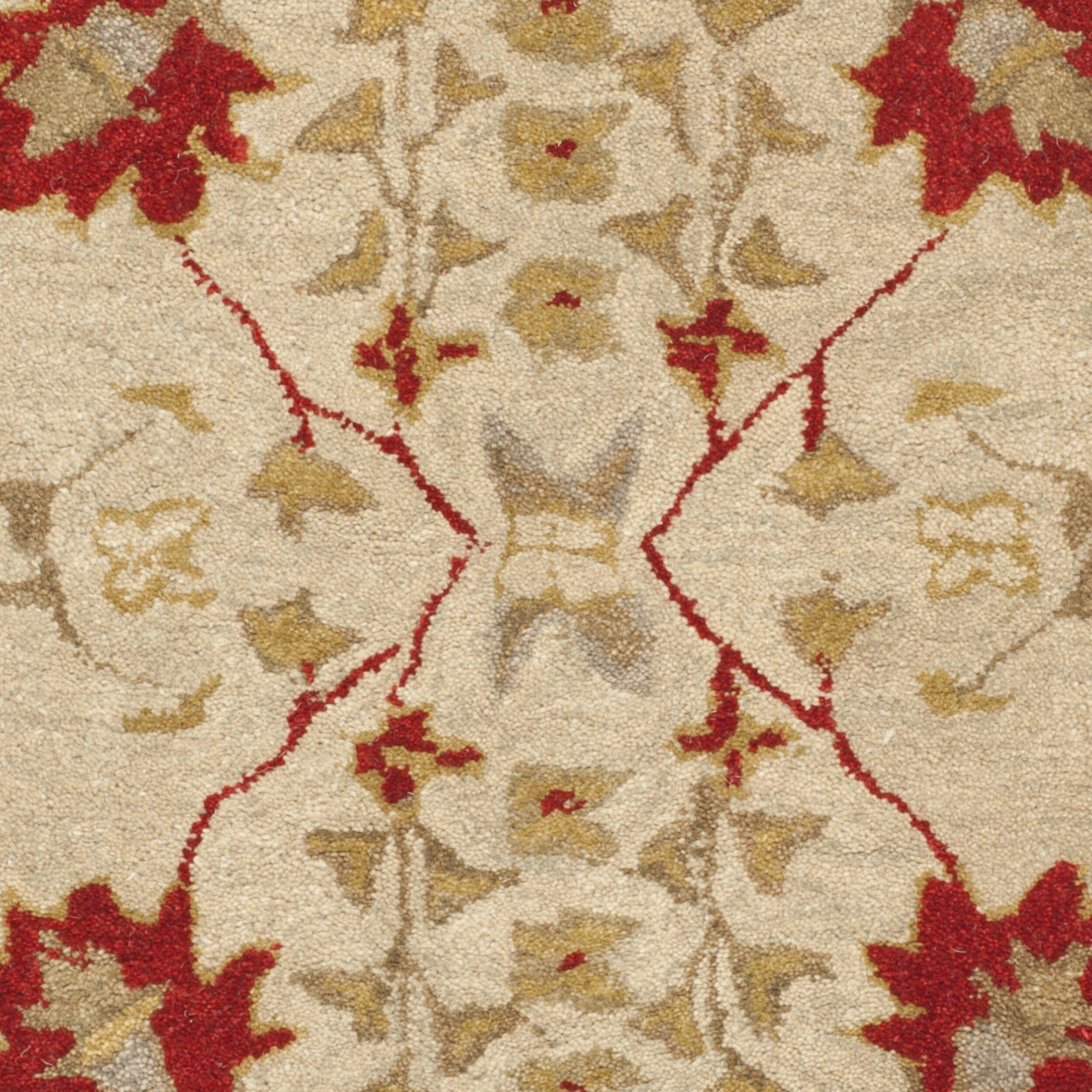 Safavieh Anatolia Ivory Red Area Rug Amp Reviews Wayfair