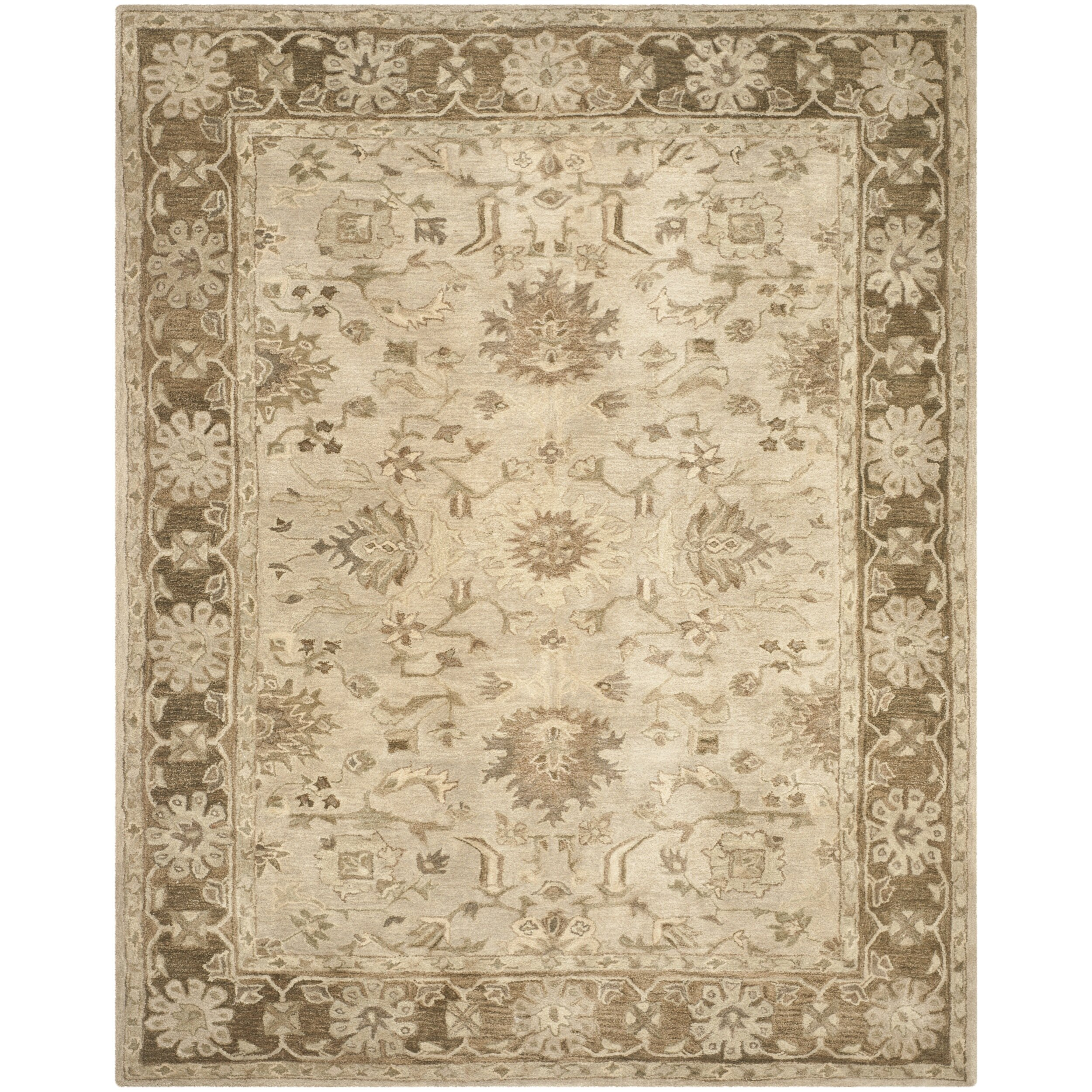 Safavieh Carpet: Safavieh Anatolia Brown Area Rug