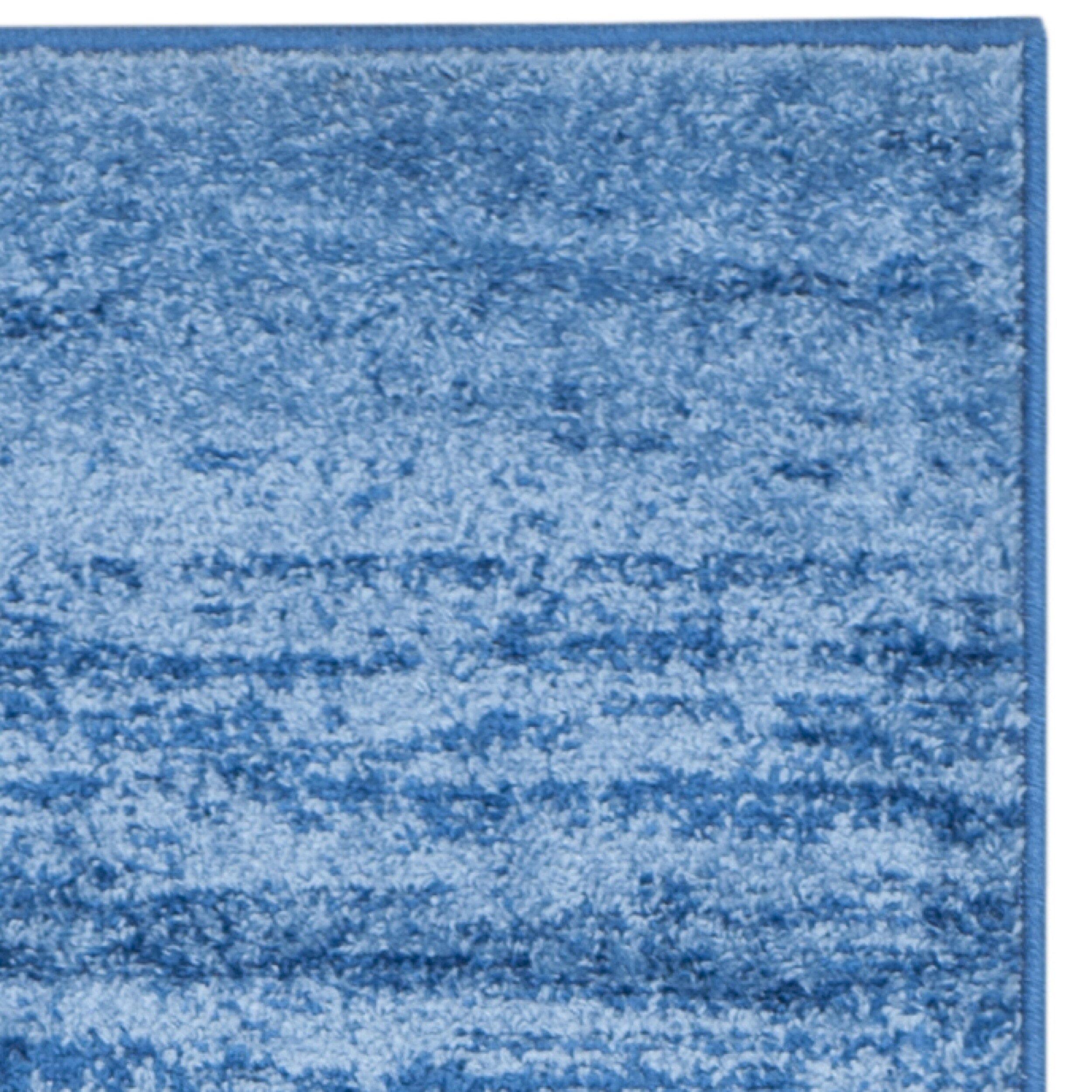 Safavieh Adirondacks Light Blue Dark Blue Area Rug
