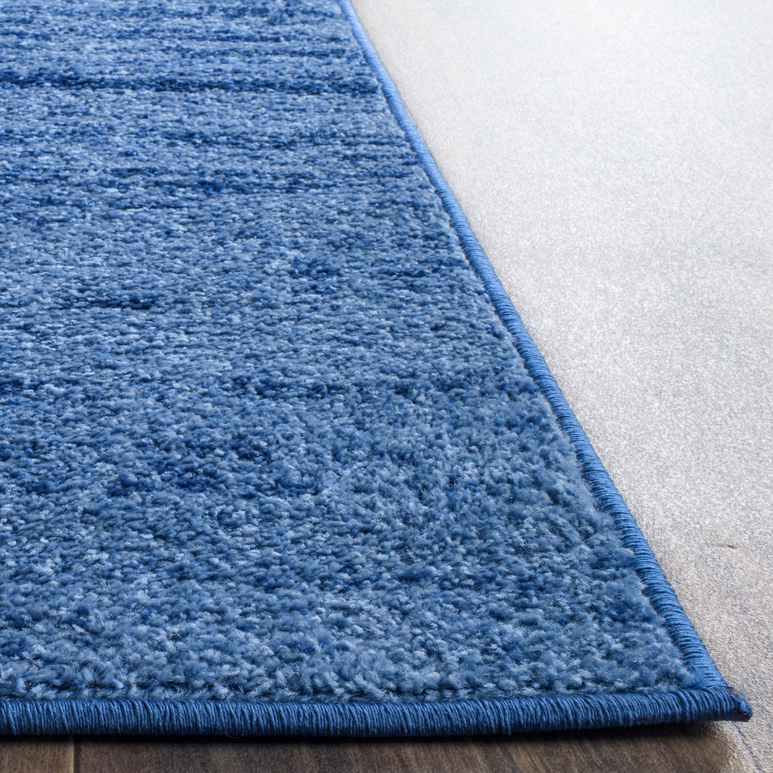 safavieh adirondacks light blue dark blue area rug. Black Bedroom Furniture Sets. Home Design Ideas
