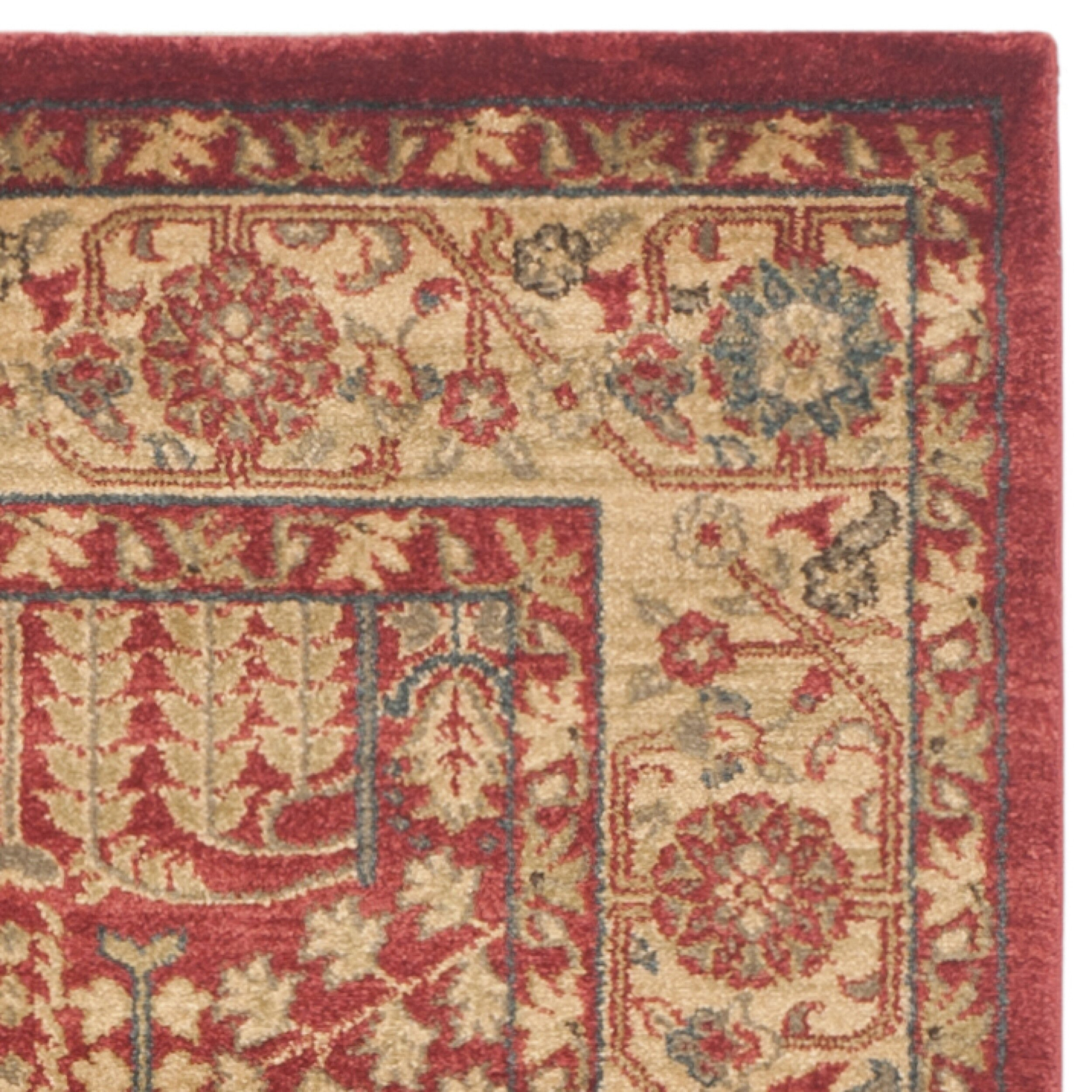 Safavieh Mahal Red/Natural Area Rug & Reviews