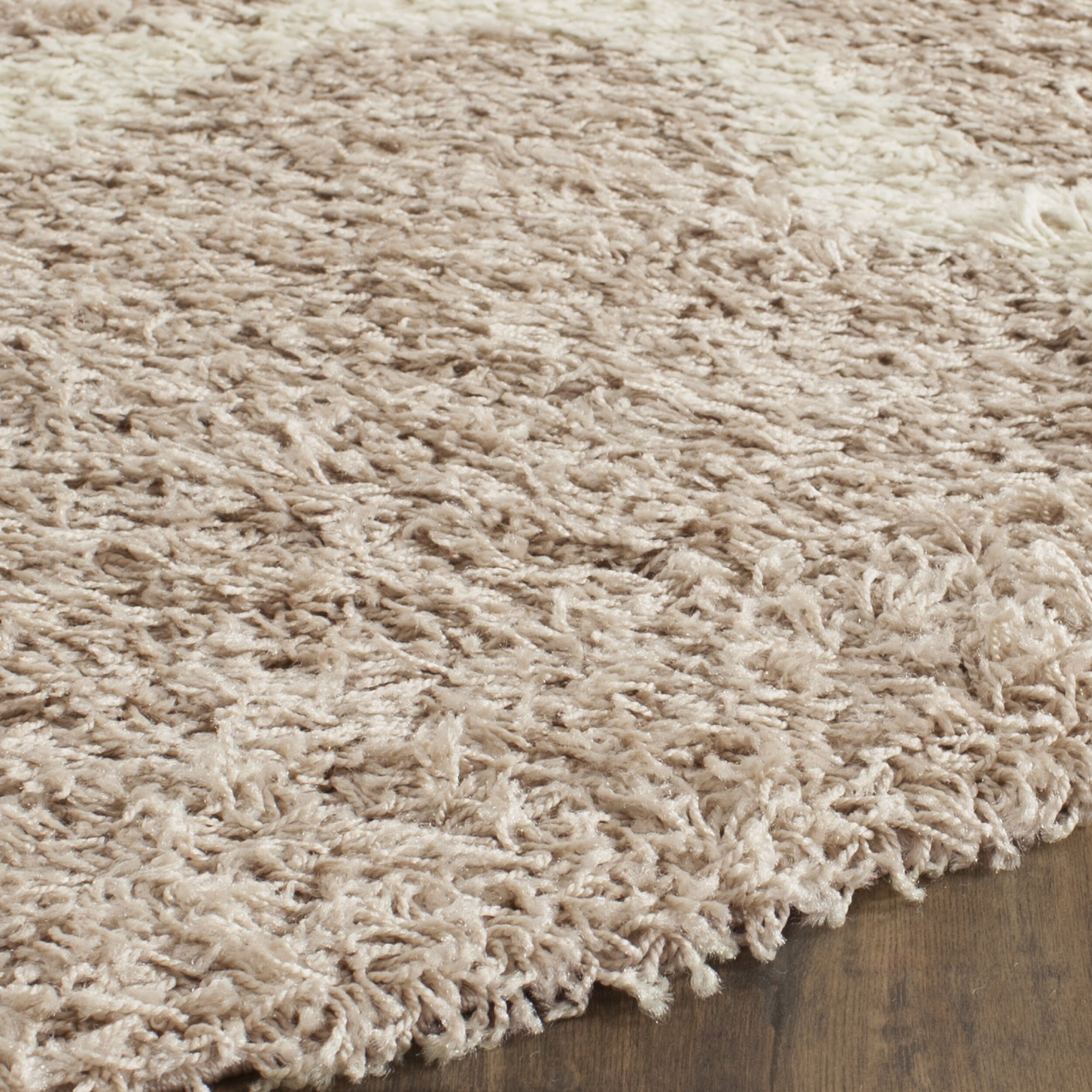 Safavieh Dallas Shag Beige Ivory Area Rug Amp Reviews Wayfair