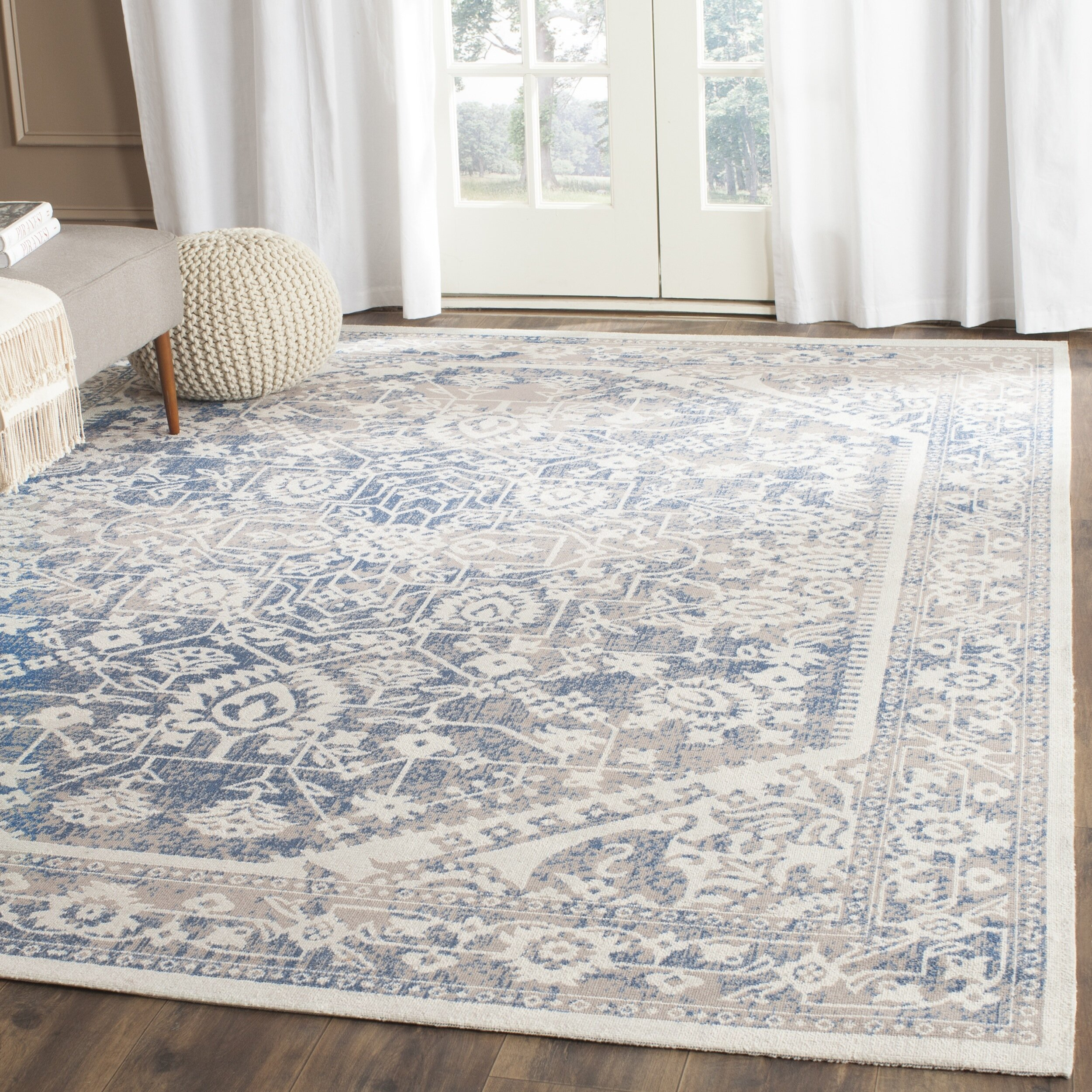 Safavieh Patina Gray/Blue Area Rug & Reviews