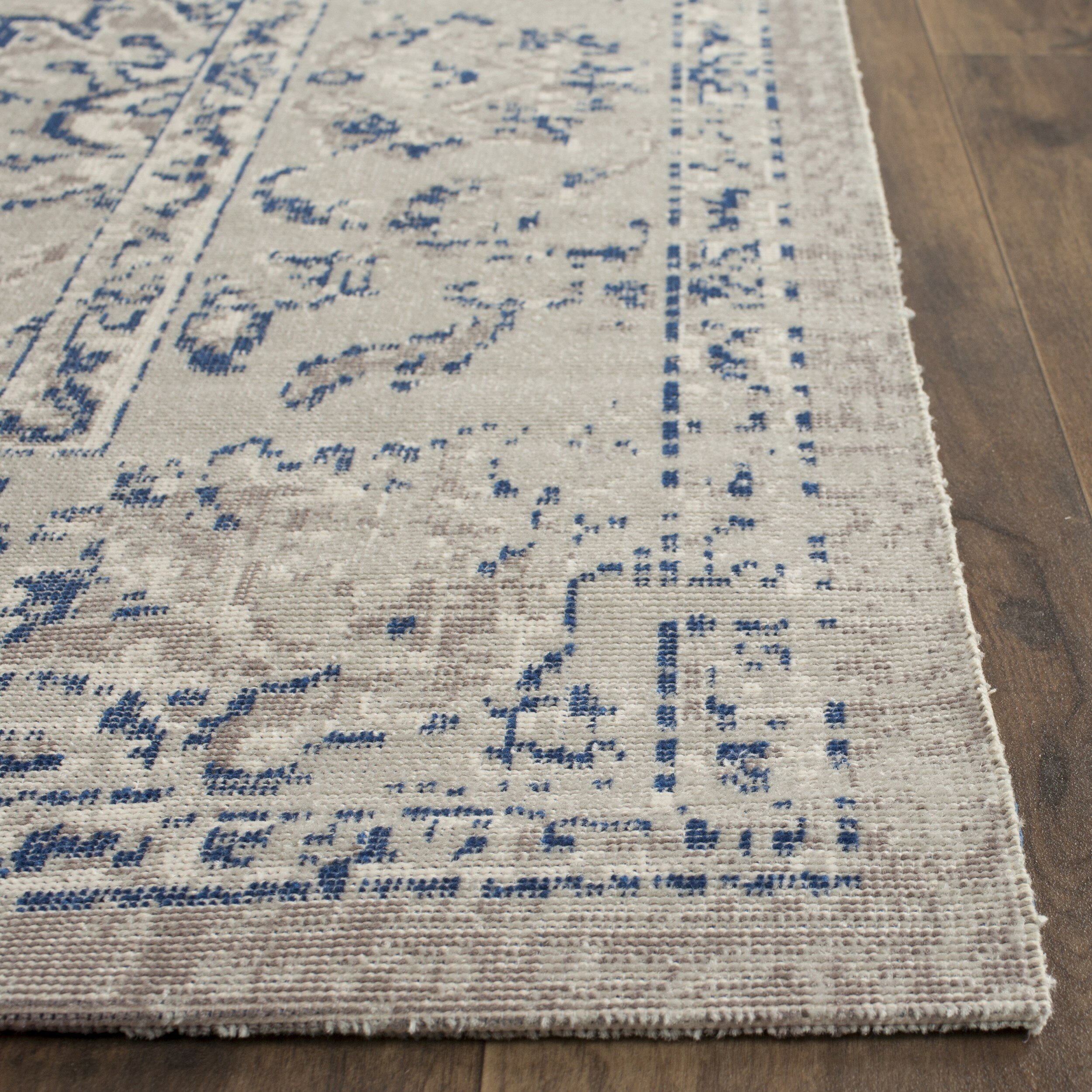 Safavieh Patina Grey / Blue Area Rug & Reviews