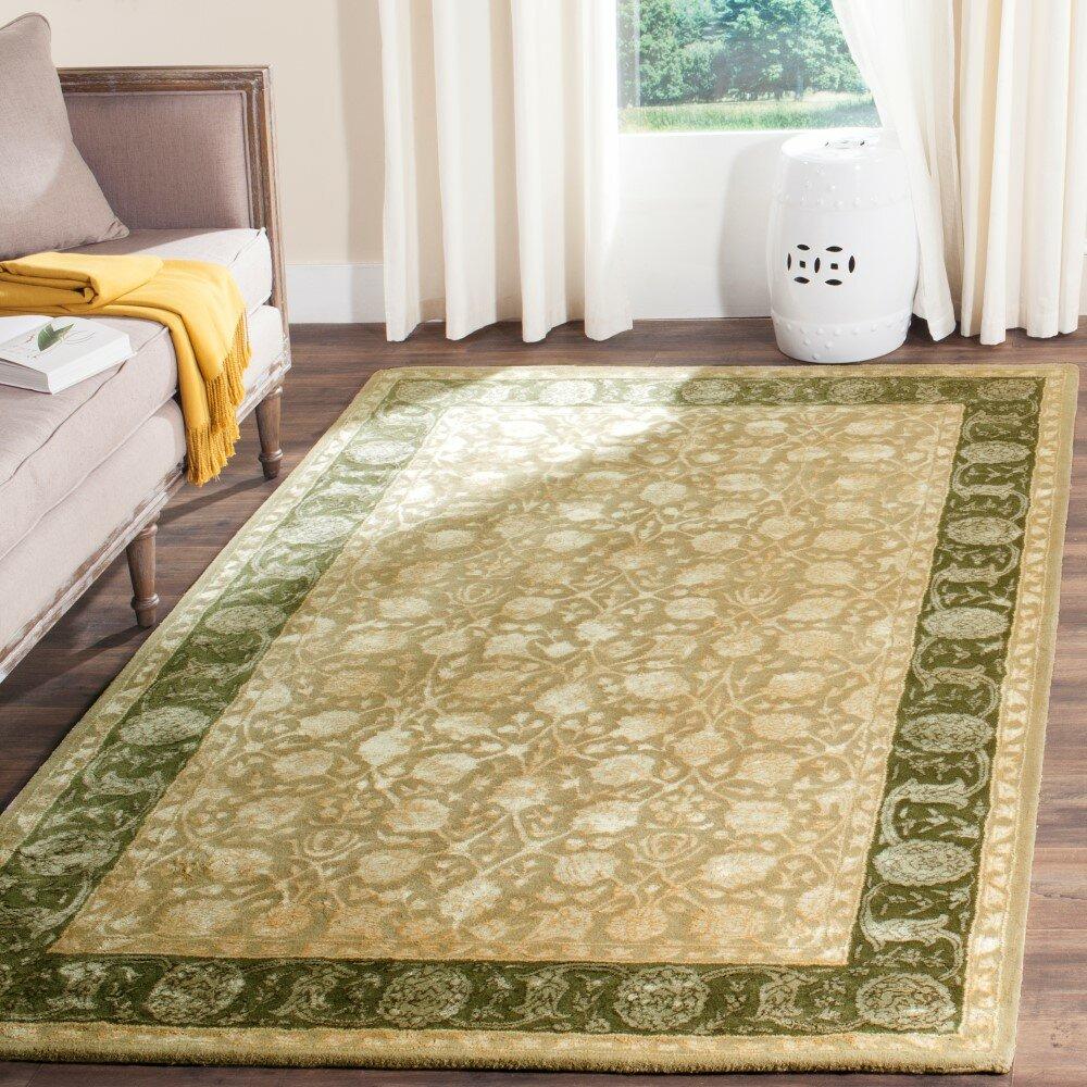 8x10 Sage Area Rug: Safavieh Silk Road Ivory/Sage Area Rug & Reviews