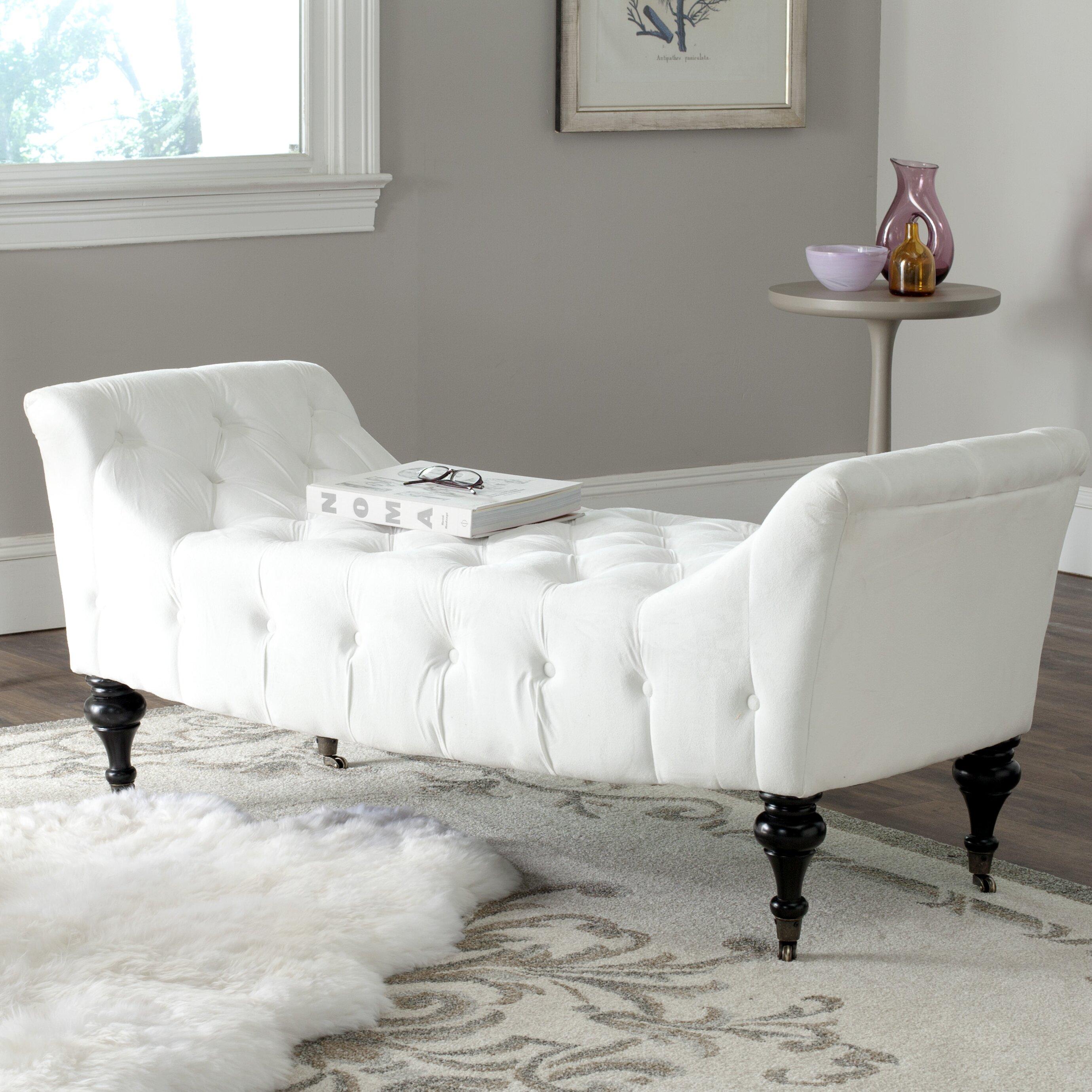 Safavieh Wood Bedroom Bench & Reviews
