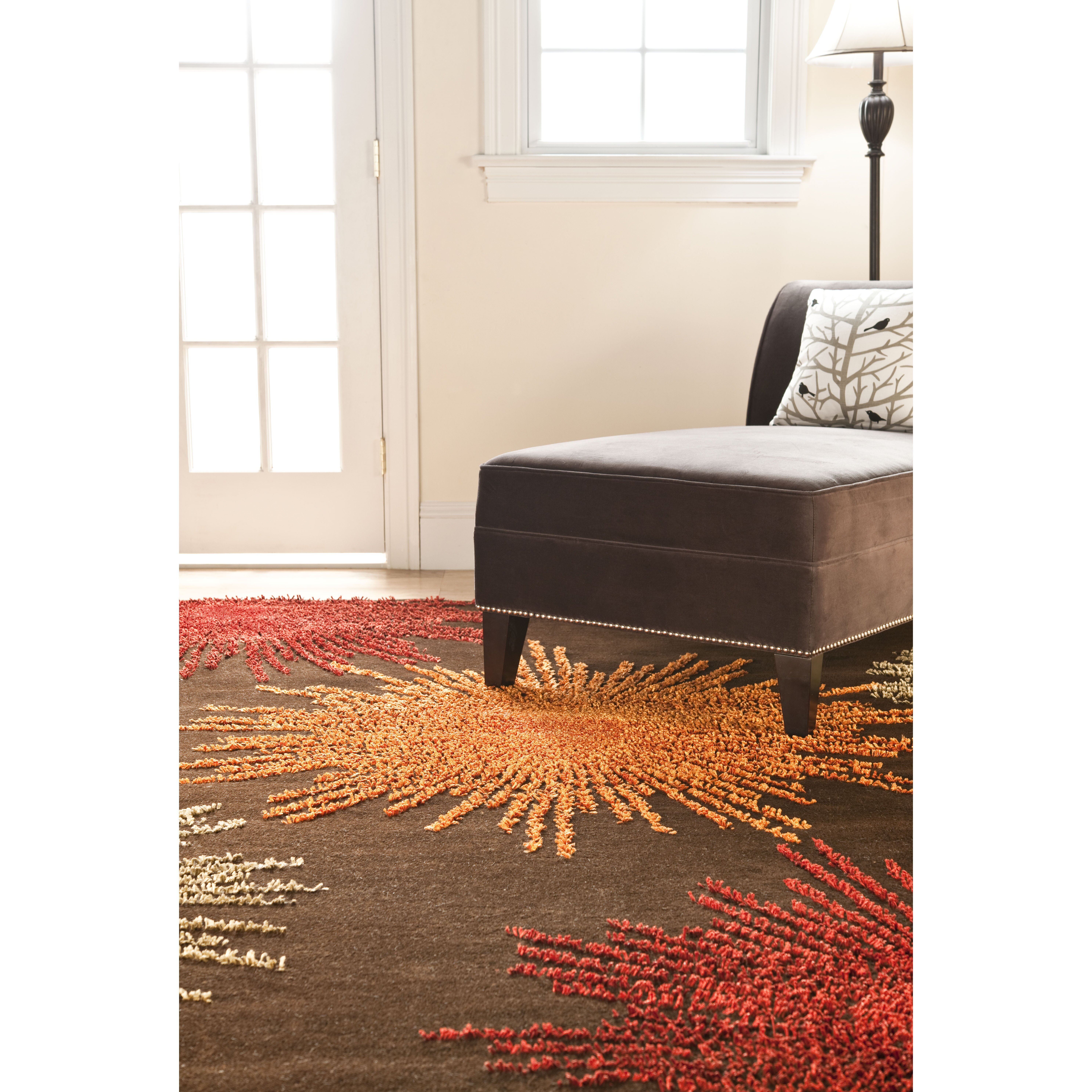 Dog Eating Wool Rug: Safavieh Soho Brown Handmade Area Rug & Reviews