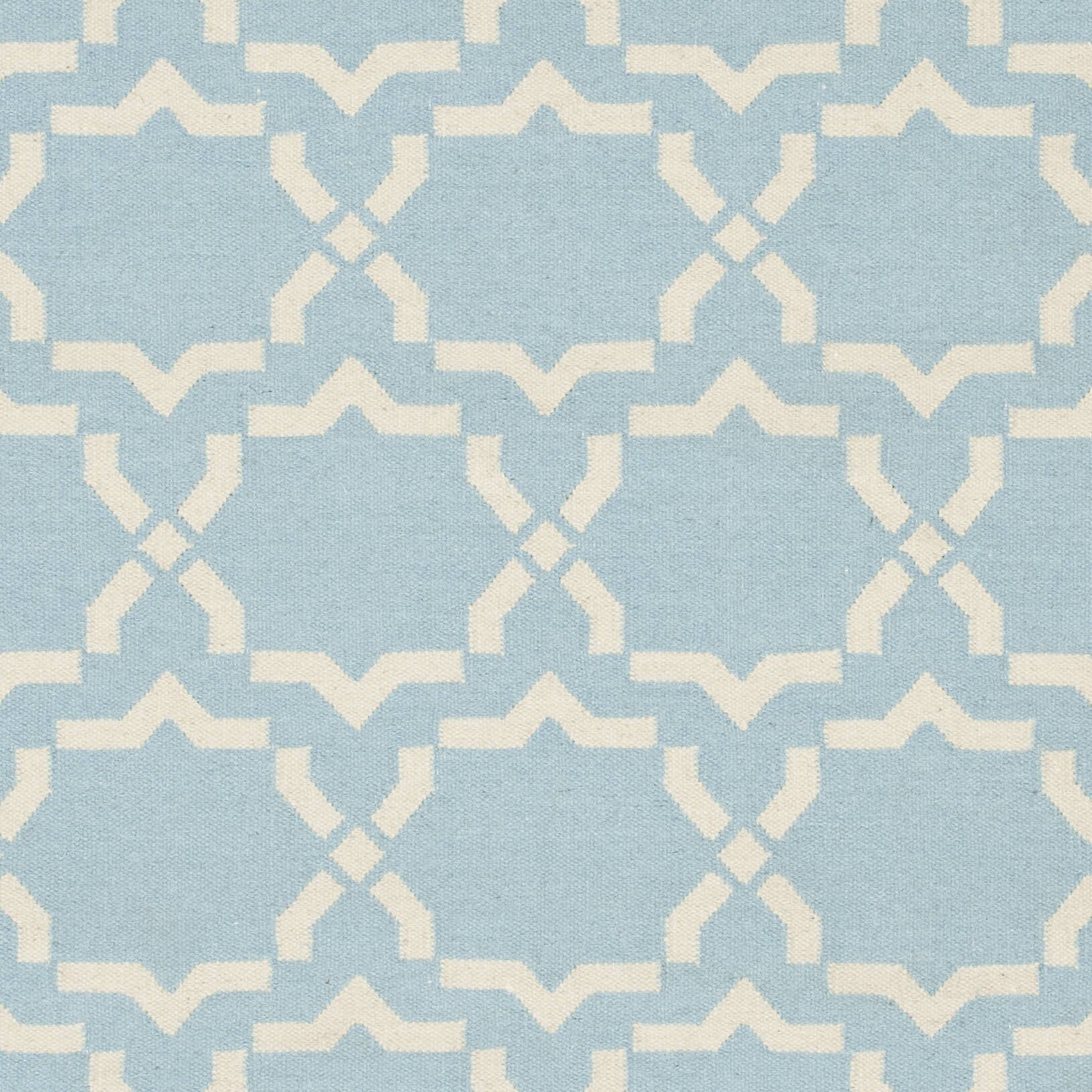 Safavieh Dhurries Light Blue Ivory Area Rug Amp Reviews